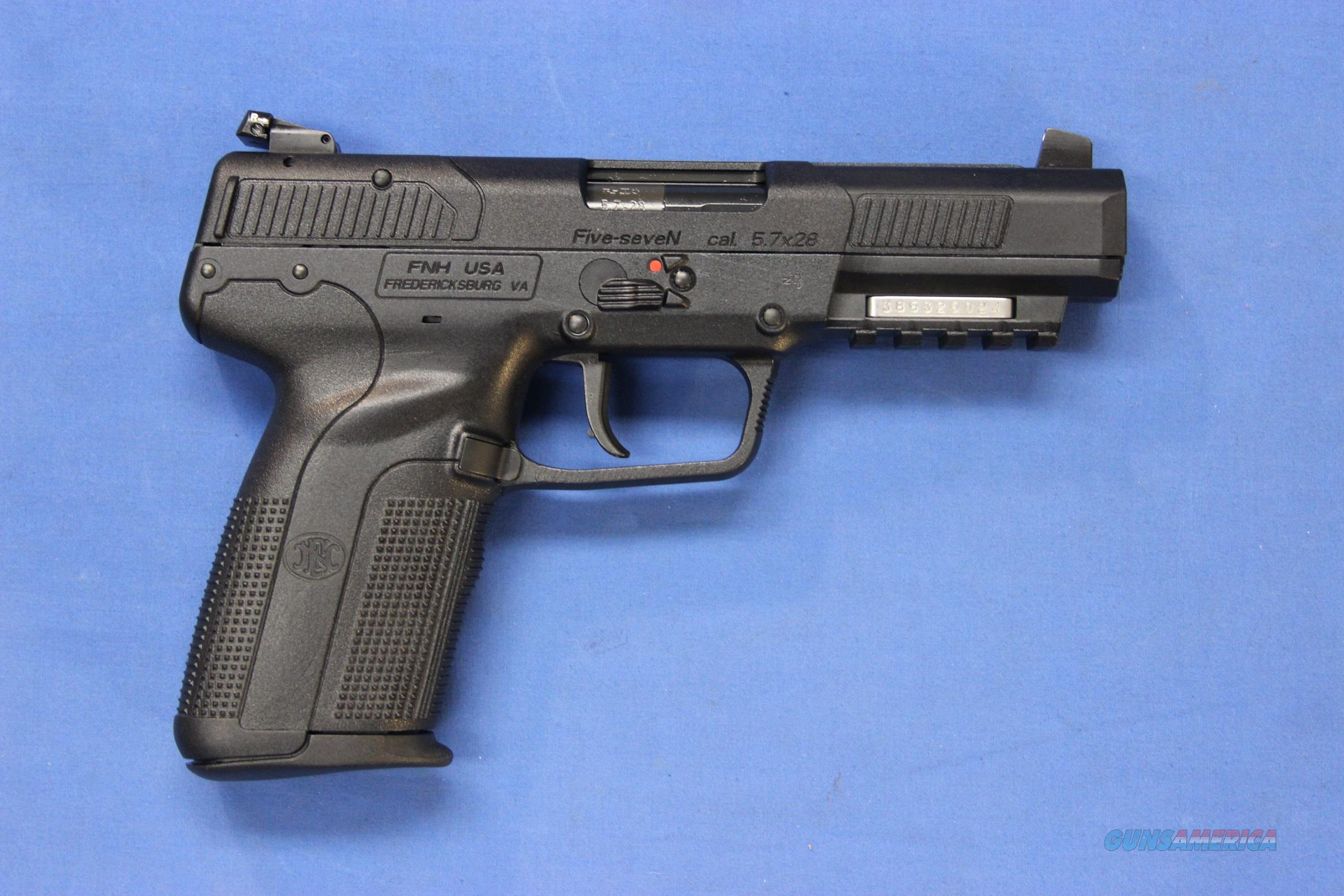 FN (FNH) FIVE-SEVEN PISTOL 5.7x28mm - NEW!  Guns > Pistols > FNH - Fabrique Nationale (FN) Pistols > FiveSeven