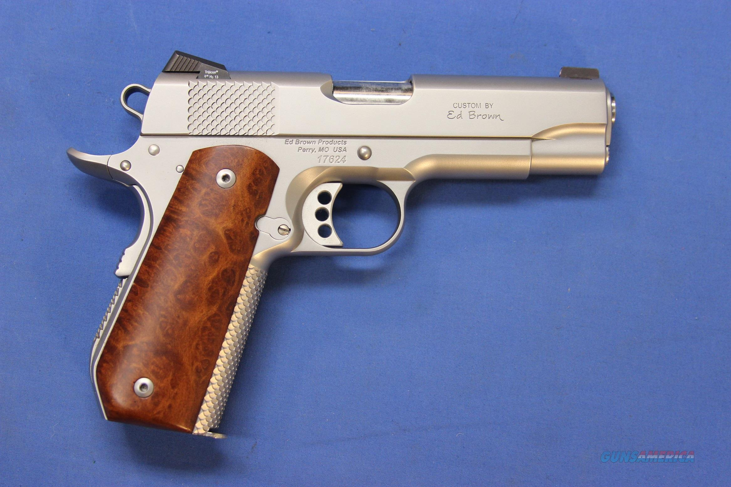 ED BROWN 1911 KOBRA CARRY STAINLESS .45 ACP  Guns > Pistols > Ed Brown Pistols