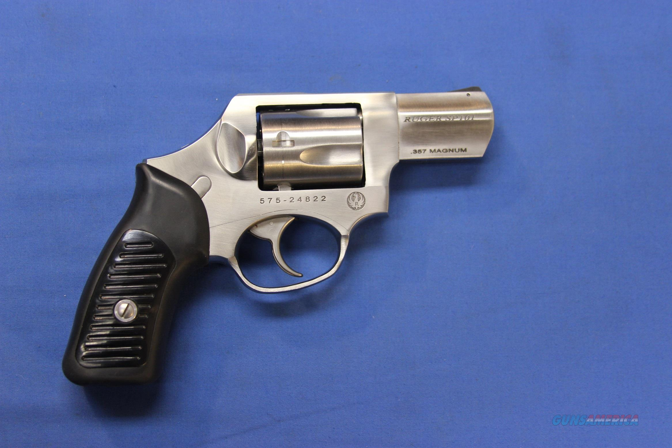 "RUGER SP101 SS .357 MAG HAMMERLESS DAO 2.25"" w/BOX  Guns > Pistols > Ruger Double Action Revolver > SP101 Type"