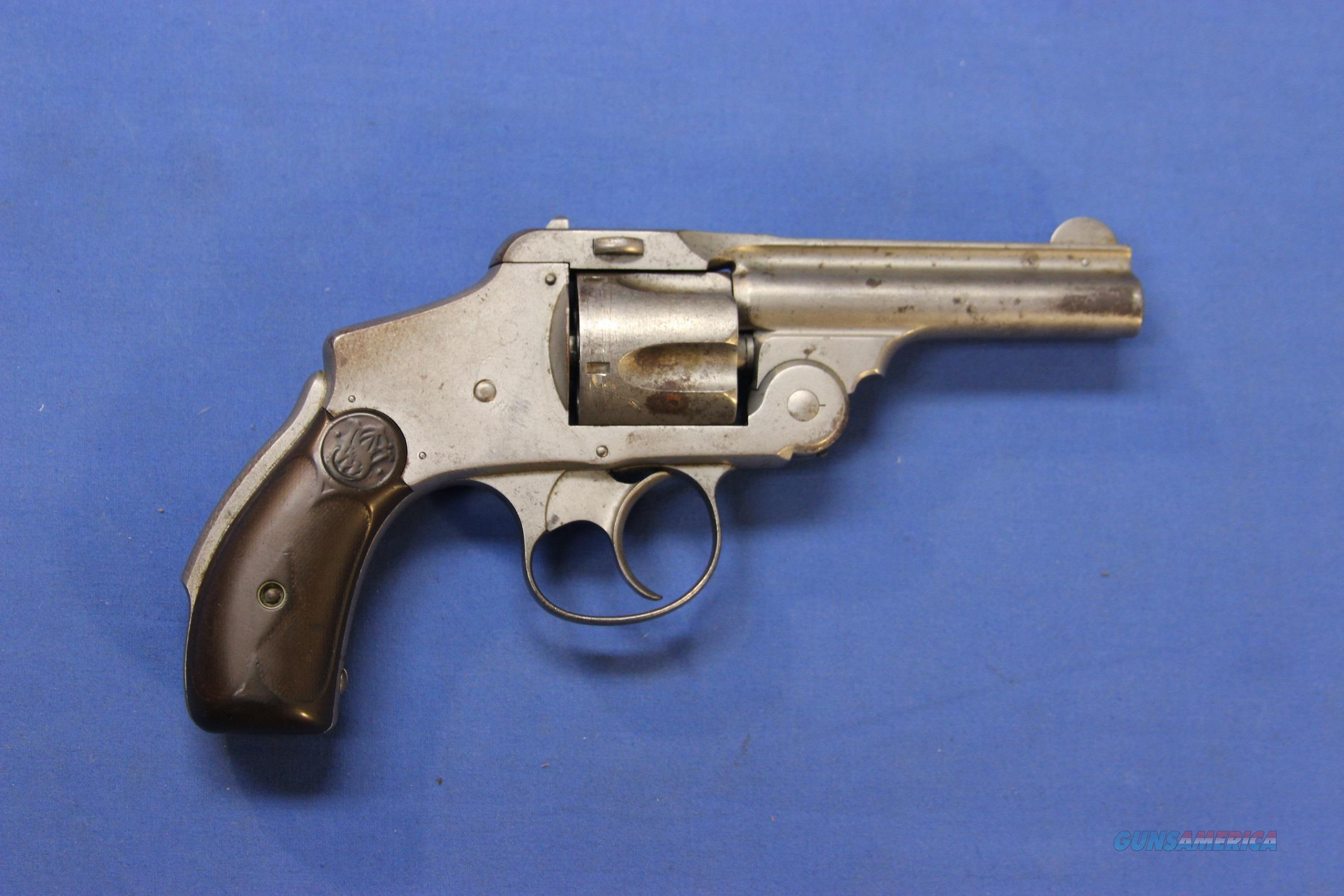 SMITH & WESSON SAFETY HAMMERLESS FIRST MODEL .38 S&W  Guns > Pistols > Smith & Wesson Revolvers > Pre-1945