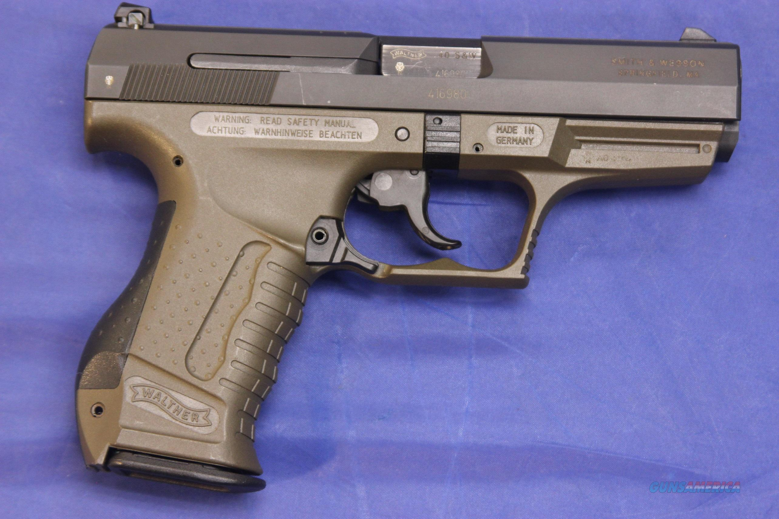 Walther P99 40 Smith Amp Wesson For Sale