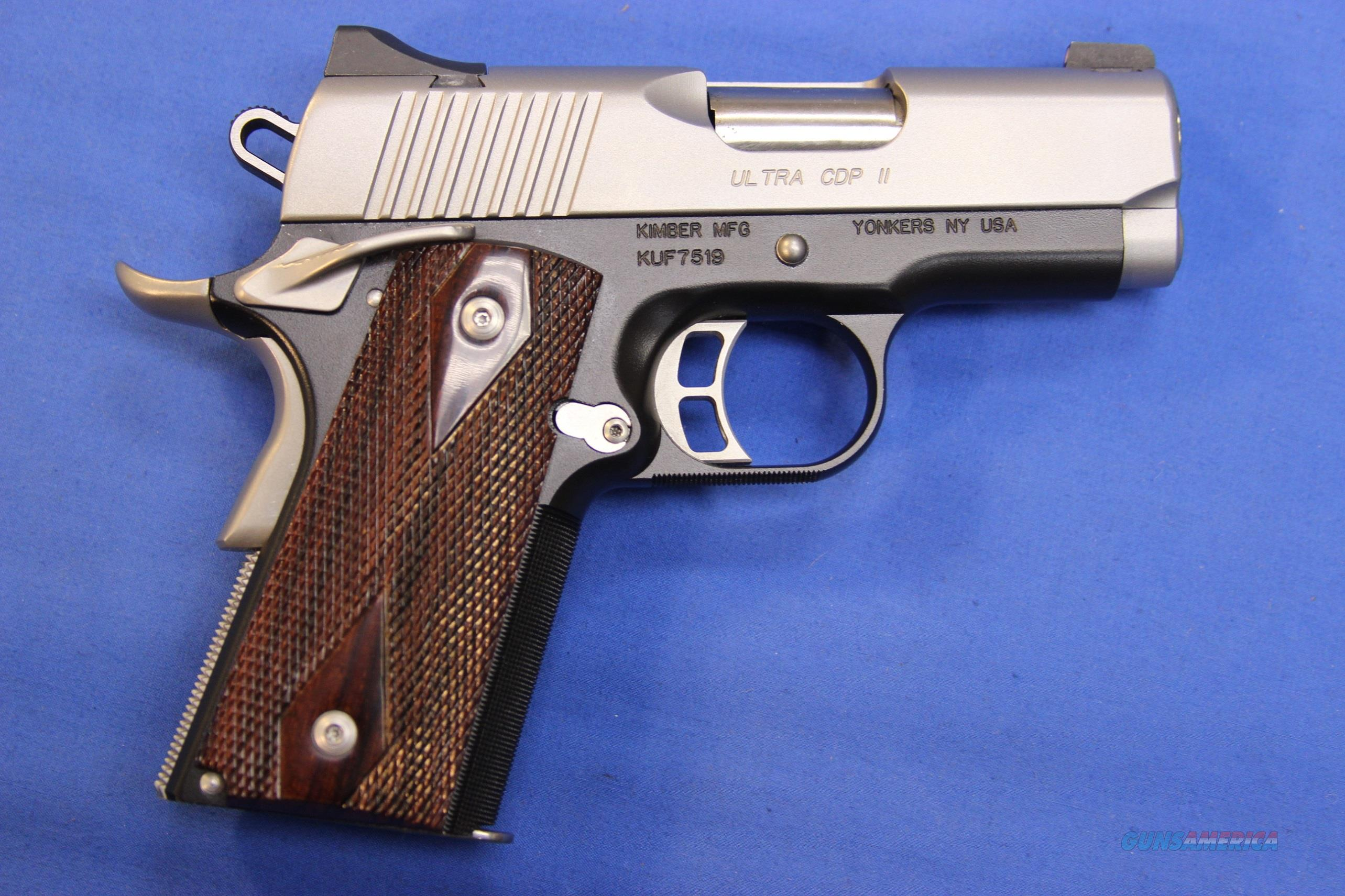 KIMBER ULTRA CDP II 9mm w/ BOX - EXCELLENT CONDITION w/3 MAGS  Guns > Pistols > Kimber of America Pistols