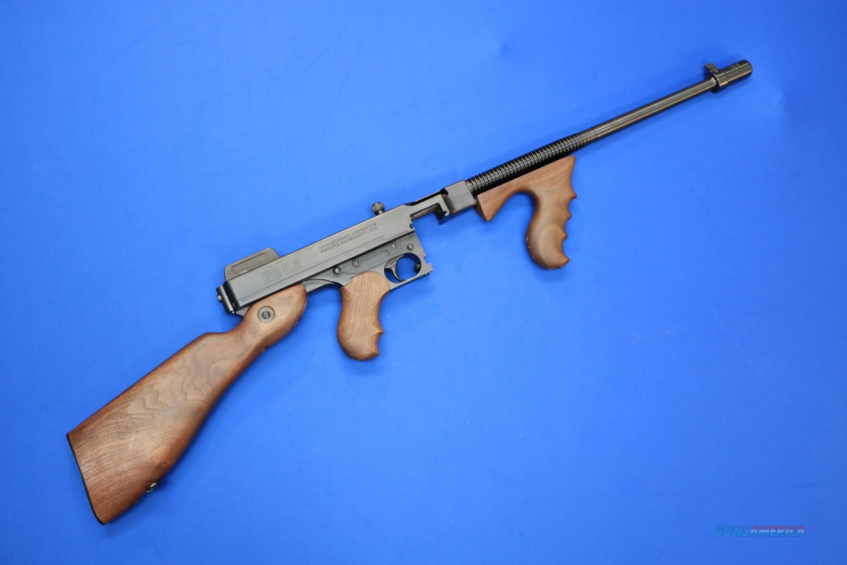 AUTO ORDNANCE THOMPSON 1927 A1 .45 ACP w/CASE  Guns > Rifles > Auto Ordnance Rifles