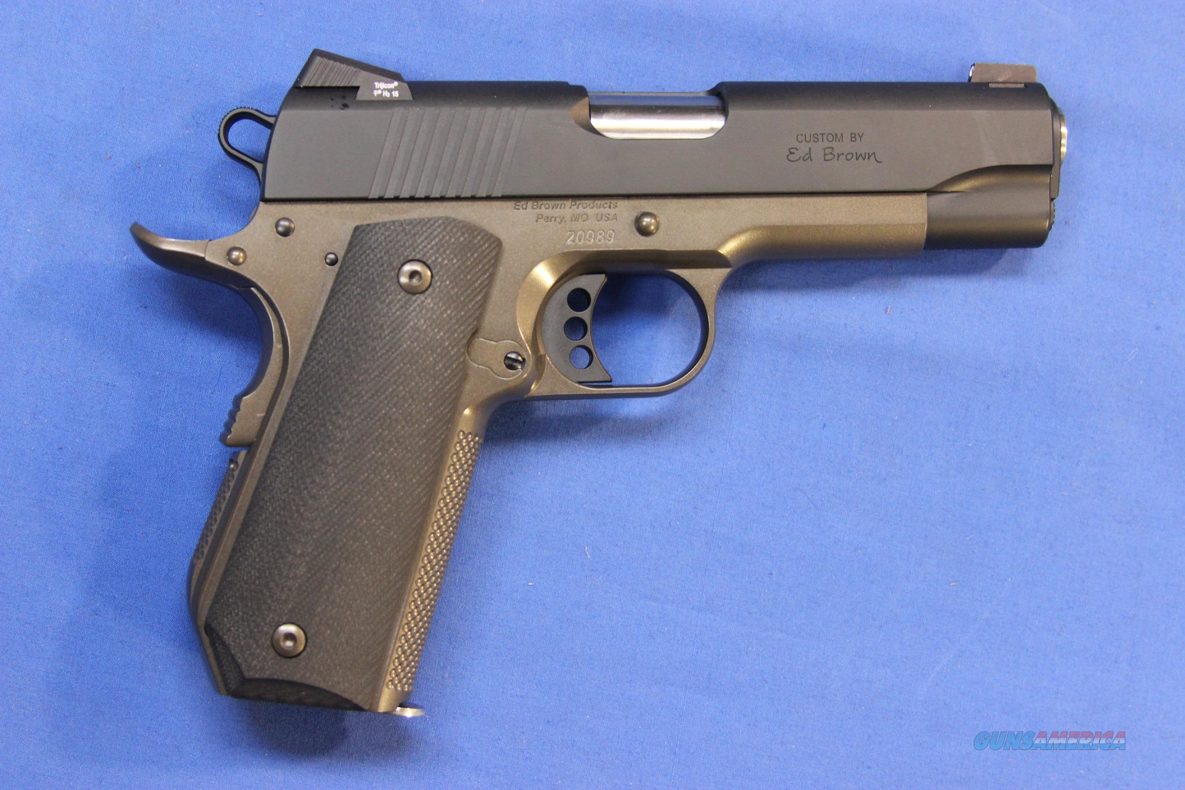 ED BROWN SPECIAL FORCES CARRY .45 ACP BATTLE  BRONZE - NEW!  Guns > Pistols > Ed Brown Pistols