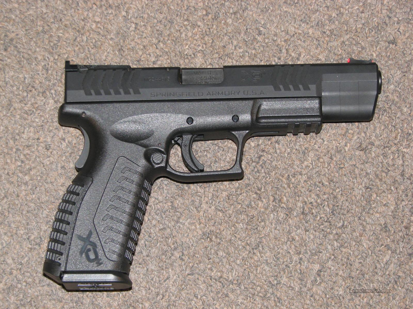 SPRINGFIELD XDM 40 5.25 .40 S&W w/ Gear!  Guns > Pistols > Springfield Armory Pistols > XD-M