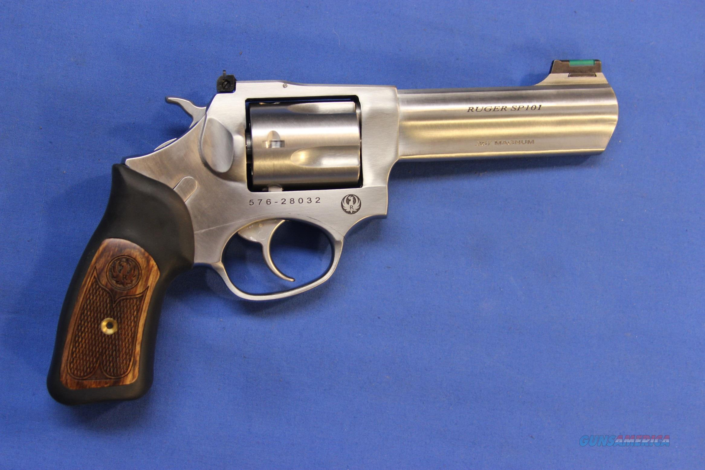 "RUGER SP101 STAINLESS .357 MAGNUM 4"" - NEW!  Guns > Pistols > Ruger Double Action Revolver > SP101 Type"