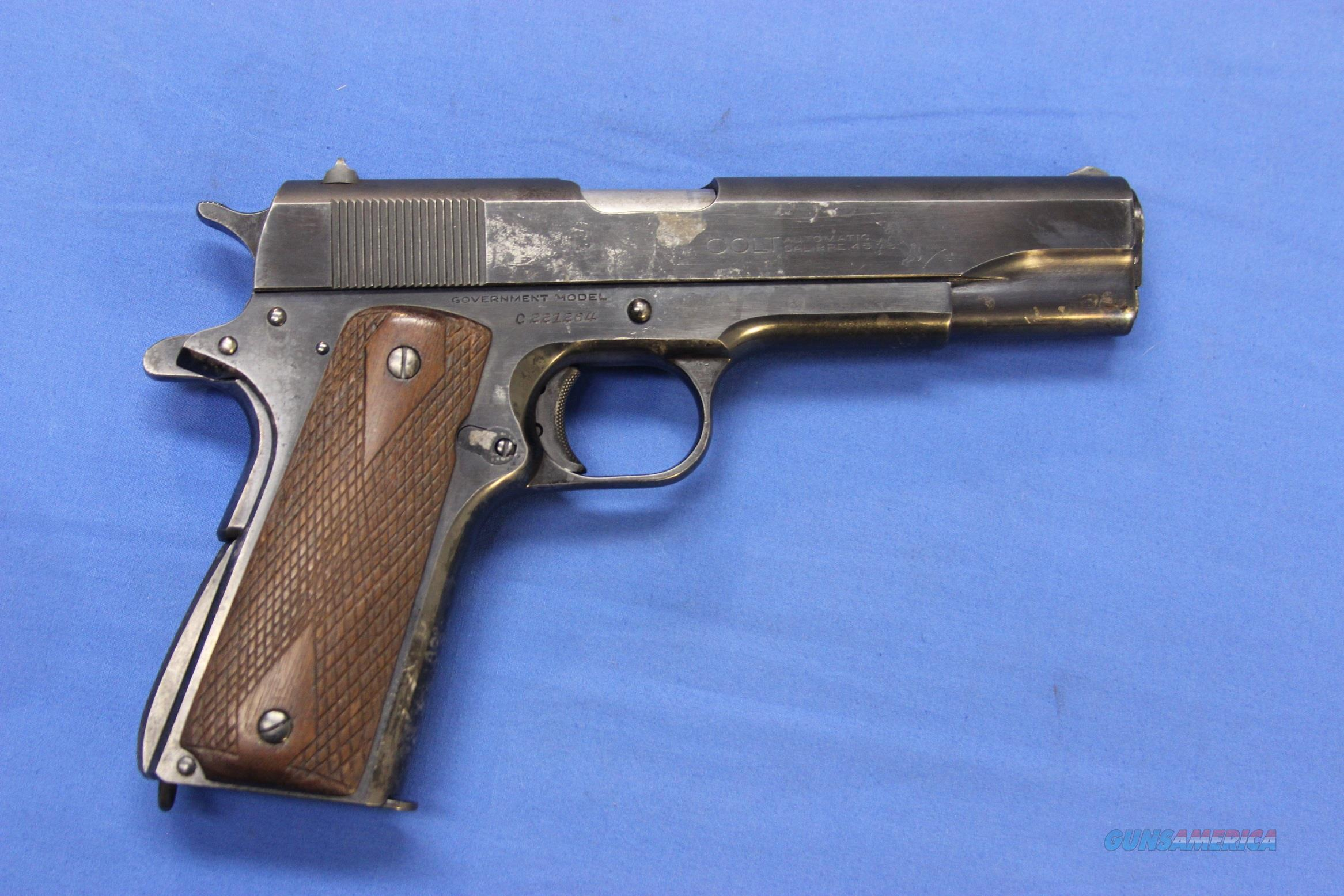 COLT 1911A1 GOVERNMENT COMMERCIAL .45 ACP 1946 ... for sale