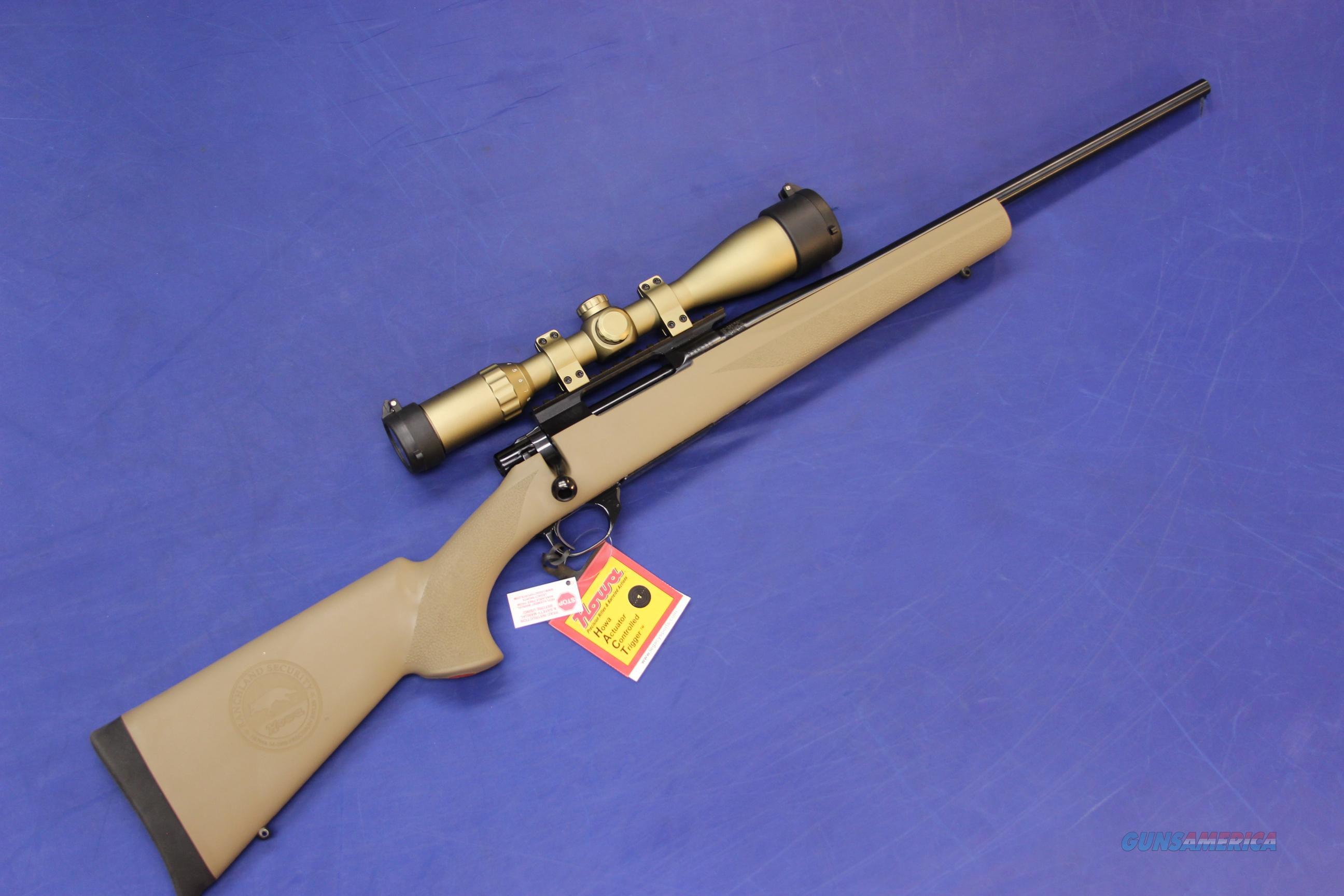 HOWA 1500 RANCHLAND SAND COMPACT PACKAGE .22-250 REM - NEW!  Guns > Rifles > Howa Rifles