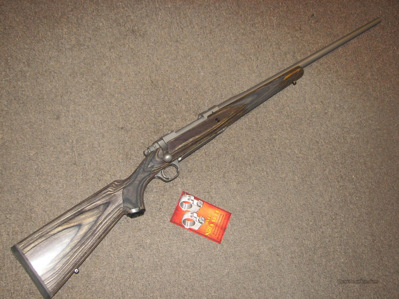 RUGER M77 HAWKEYE STAINLESS LAMINATE .338 WIN MAG - NEW!  Guns > Rifles > Ruger Rifles > Model 77