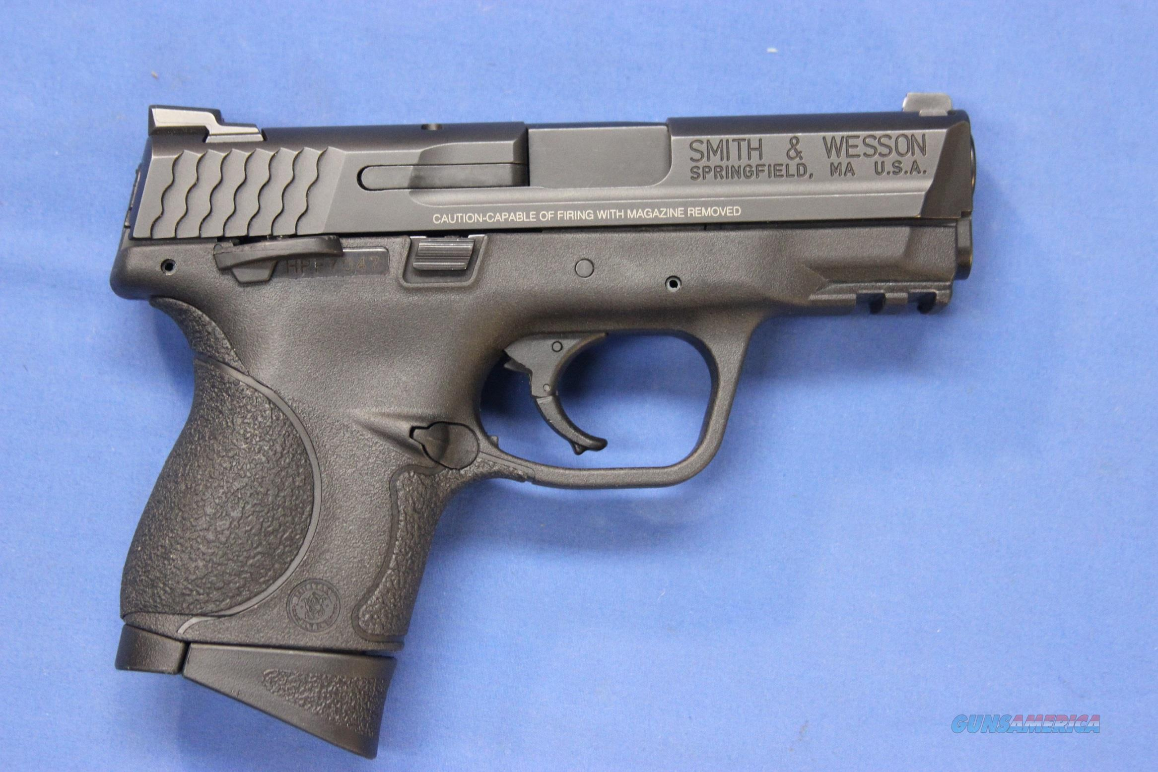 SMITH & WESSON M&P9C COMPACT 9mm w/BOX & 2 MAGS  Guns > Pistols > Smith & Wesson Pistols - Autos > Polymer Frame