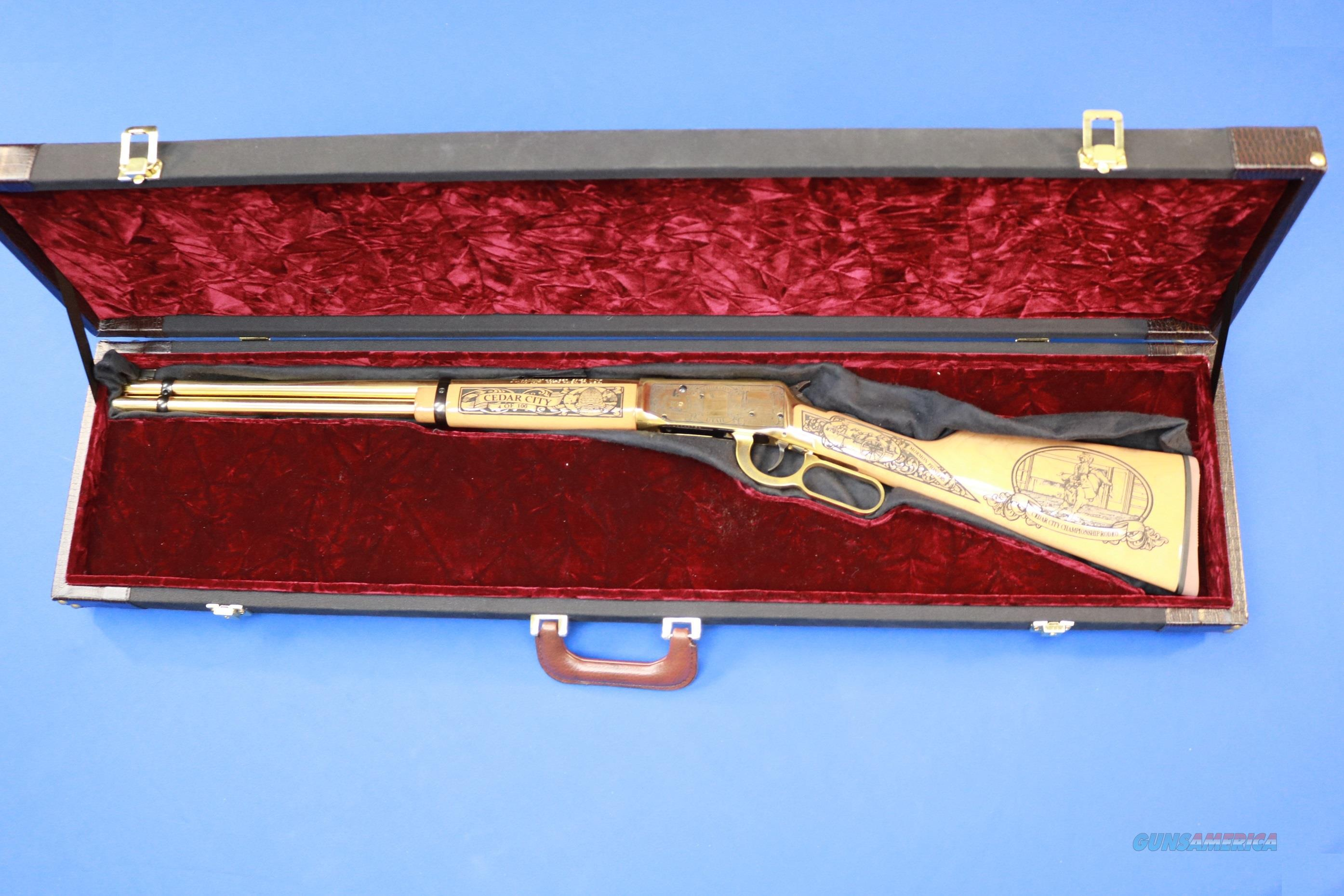 MOSSBERG 464 CEDAR CITY UTAH COMMEMORATIVE .30-30   Guns > Rifles > Mossberg Rifles > Lever Action