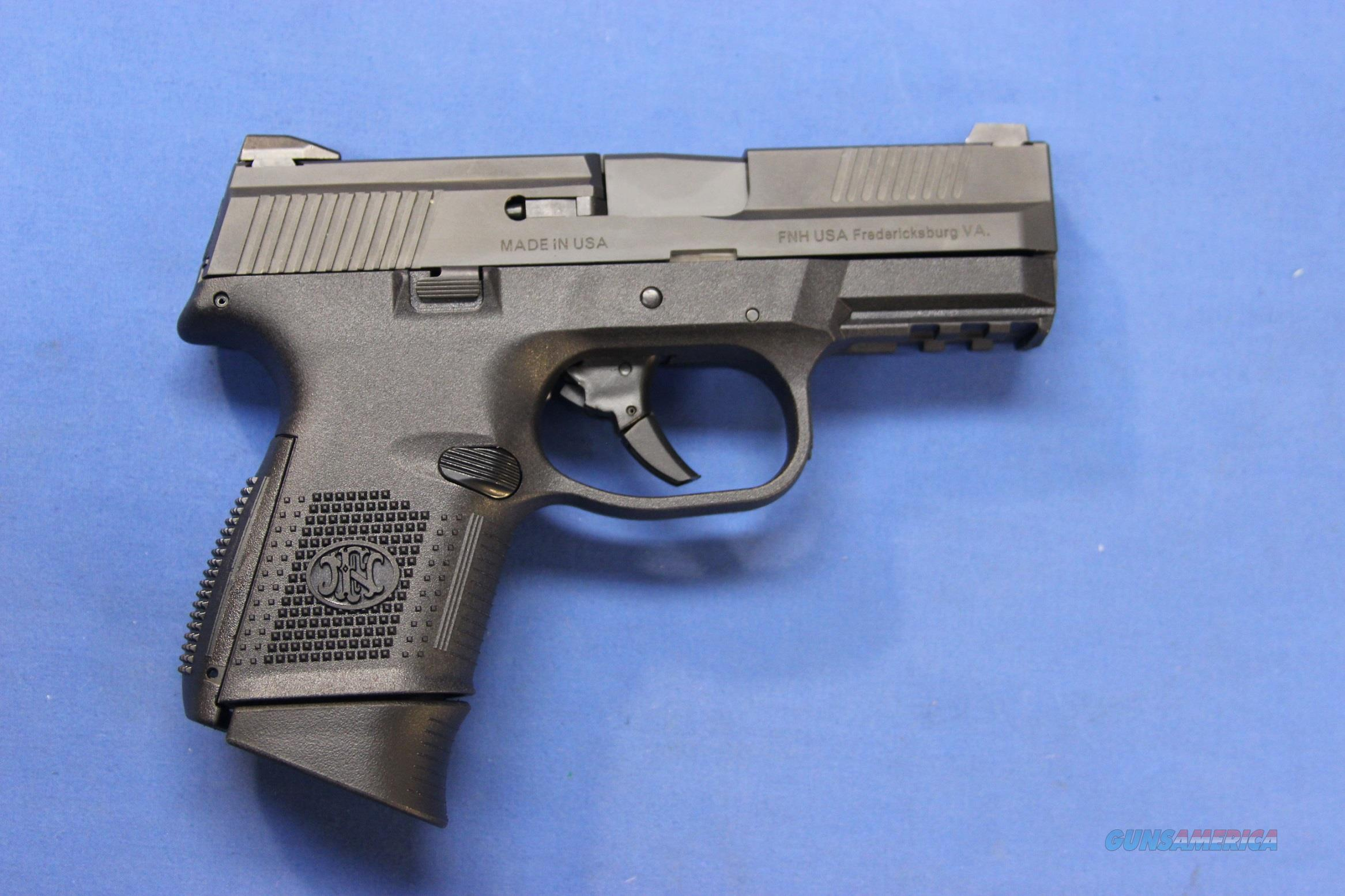 FNH USA FNS-9c 9mm - NEW IN BOX w/3 MAGS!  Guns > Pistols > FNH - Fabrique Nationale (FN) Pistols > FNS
