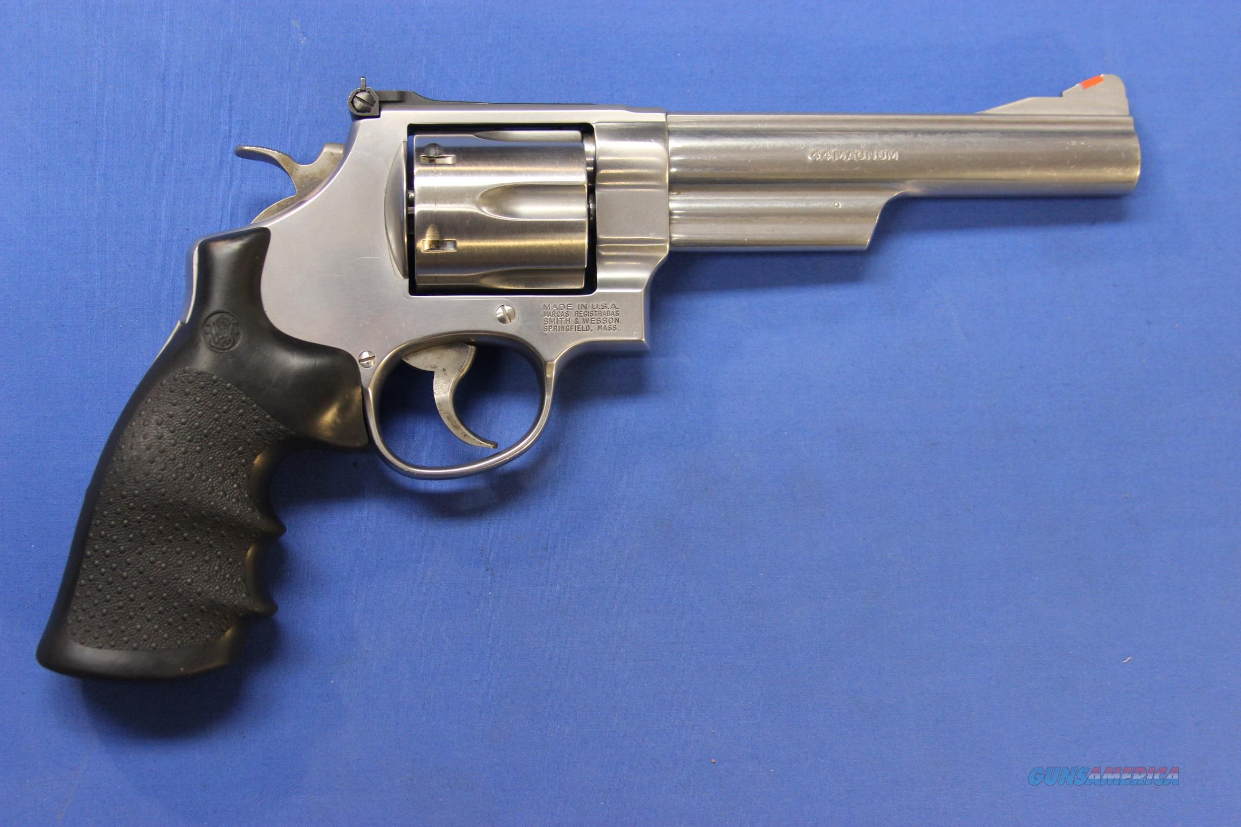 SMITH & WESSON 629-5 STAINLESS .44 MAGNUM w/BOX  Guns > Pistols > Smith & Wesson Revolvers > Model 629