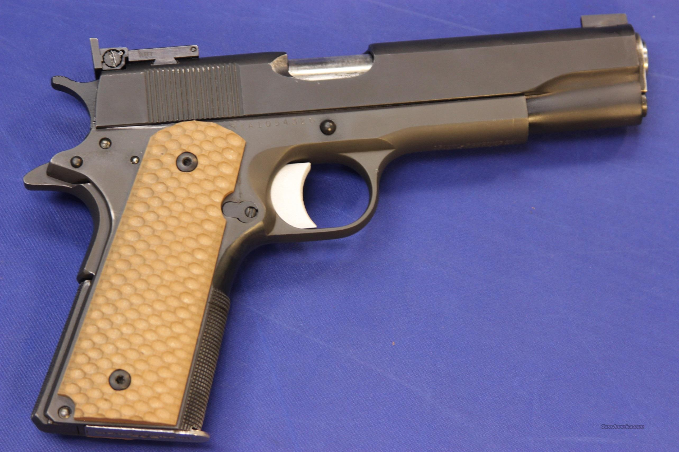 ROCK ISLAND ARMORY 1911 A1 .45 ACP w/ Ed Brown Barrel  Guns > Pistols > Rock River Arms Pistols
