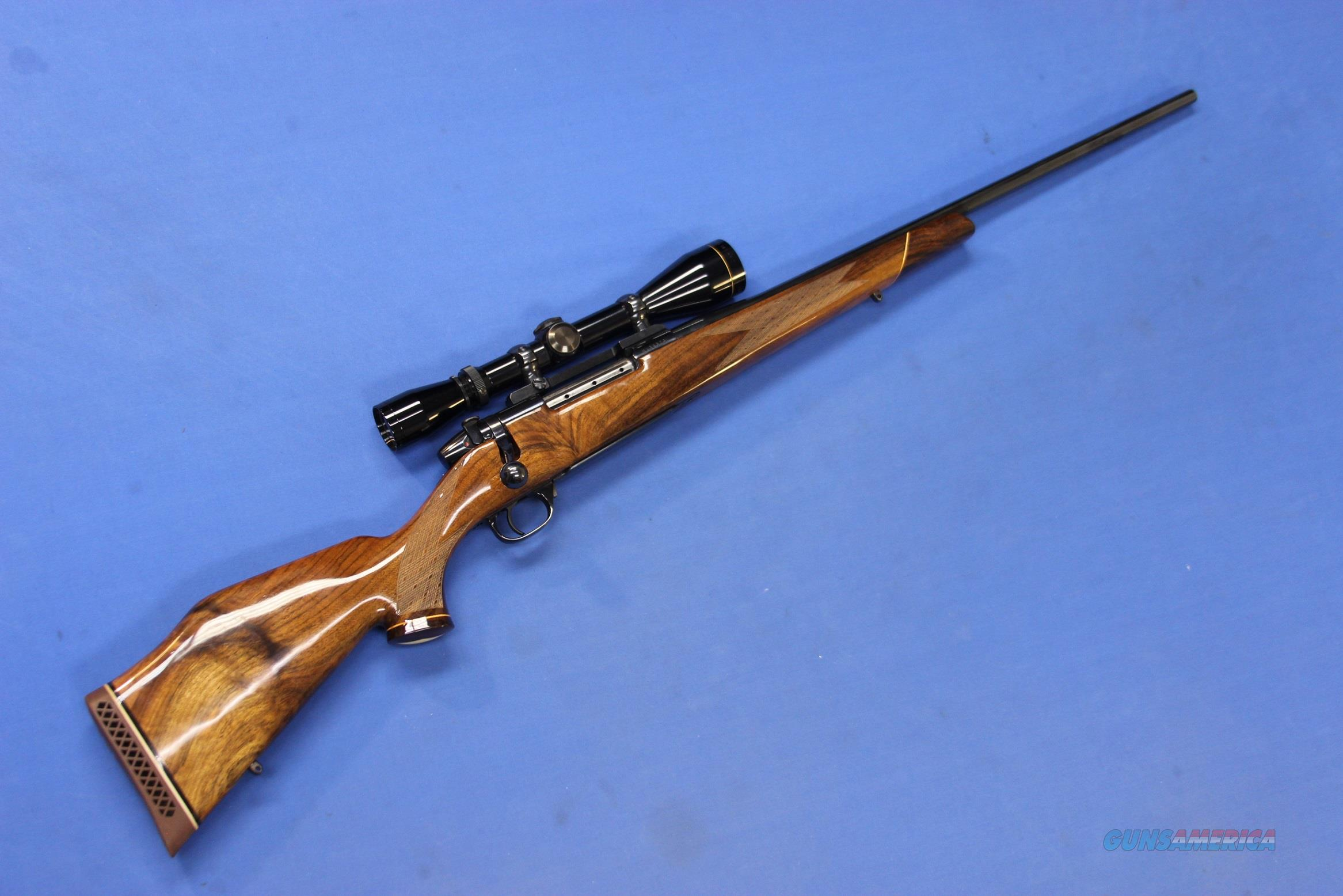 WEATHERBY MARK V DELUXE .270 WBY MAG w/LEUPOLD  Guns > Rifles > Weatherby Rifles > Sporting