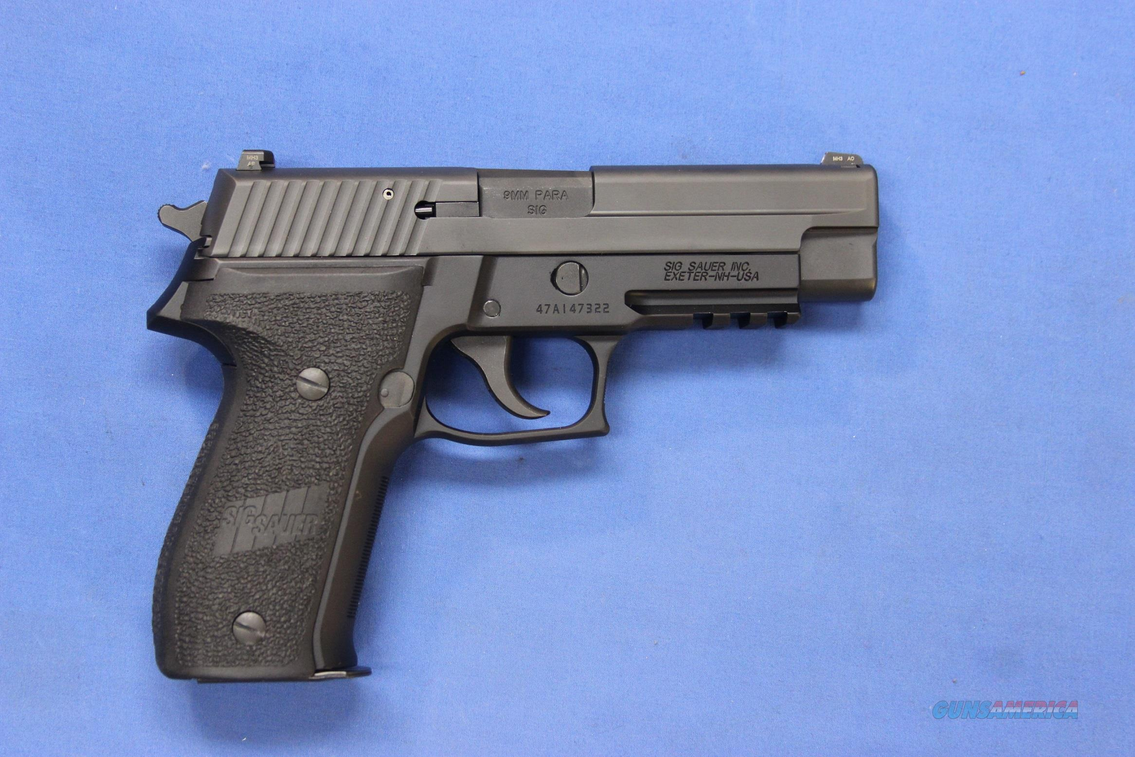 SIG SAUER P226 Mk-25 NAVY 9mm - LIKE NEW IN BOX  Guns > Pistols > Sig - Sauer/Sigarms Pistols > P226