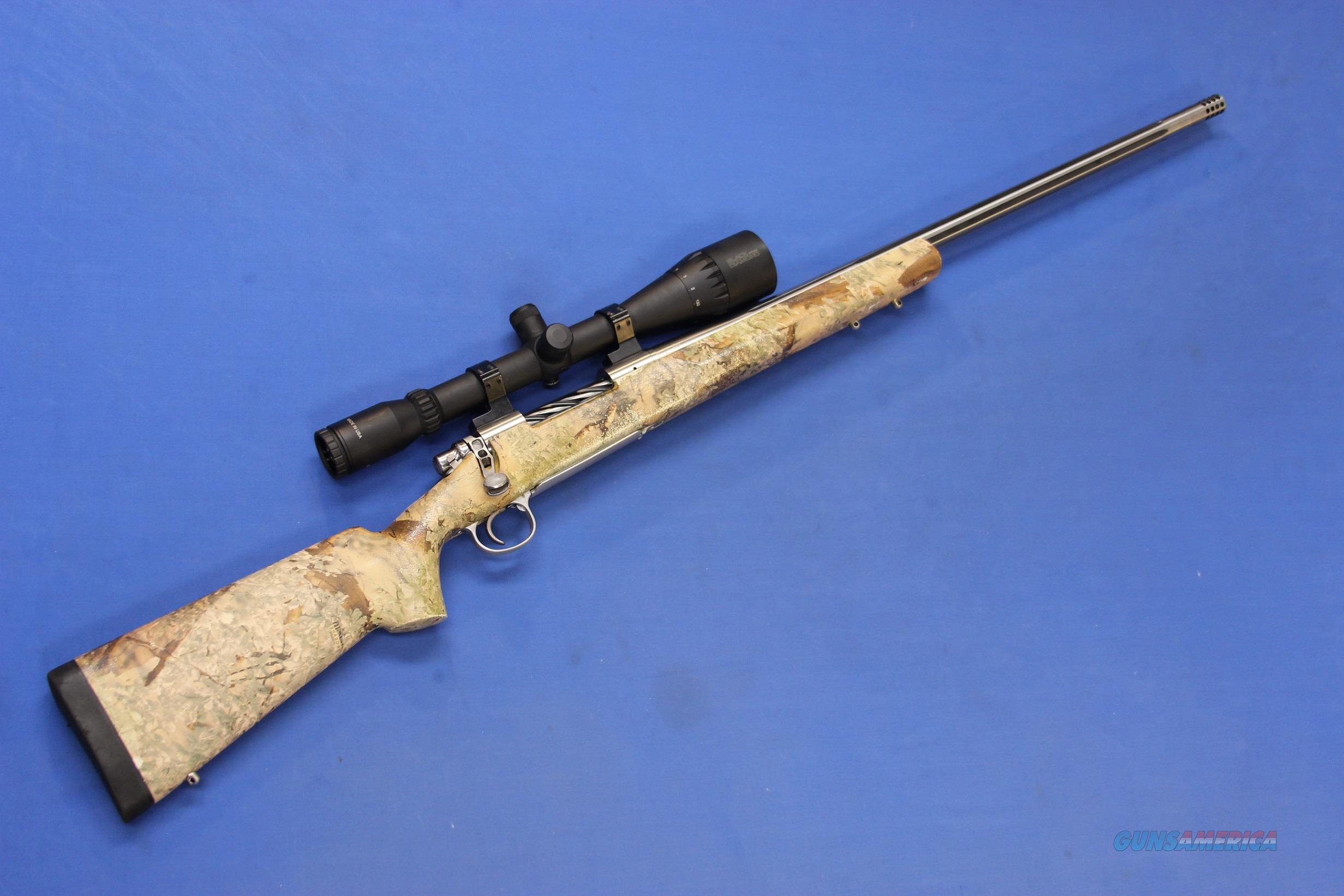 REMINGTON 700 SENDERO CUSTOM SS 7mm REM MAG w/BURRIS BLACK DIAMOND  Guns > Rifles > Remington Rifles - Modern > Model 700 > Sporting