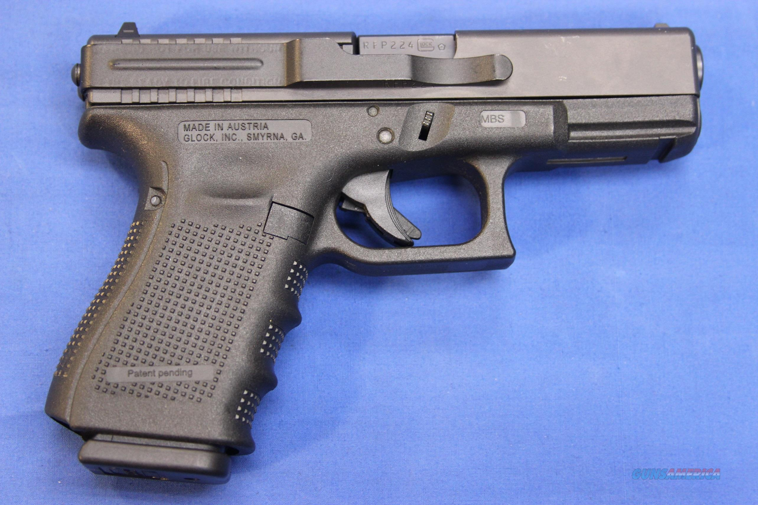 GLOCK 23 GEN4 .40 S&W w/ BOX & ACCESSORIES  Guns > Pistols > Glock Pistols > 23