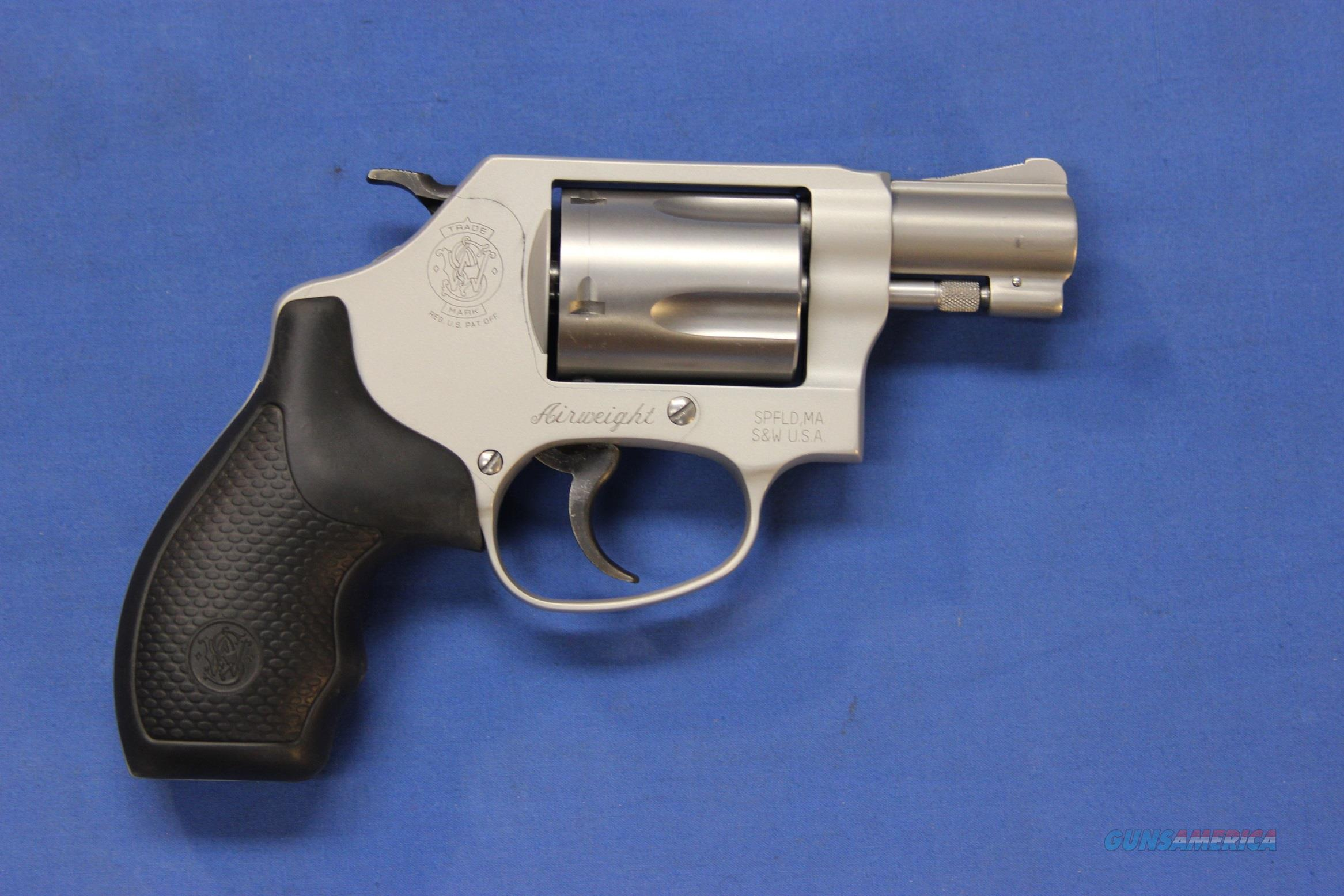 SMITH & WESSON 637-2 SS .38 SPECIAL +P  Guns > Pistols > Smith & Wesson Revolvers > Small Frame ( J )