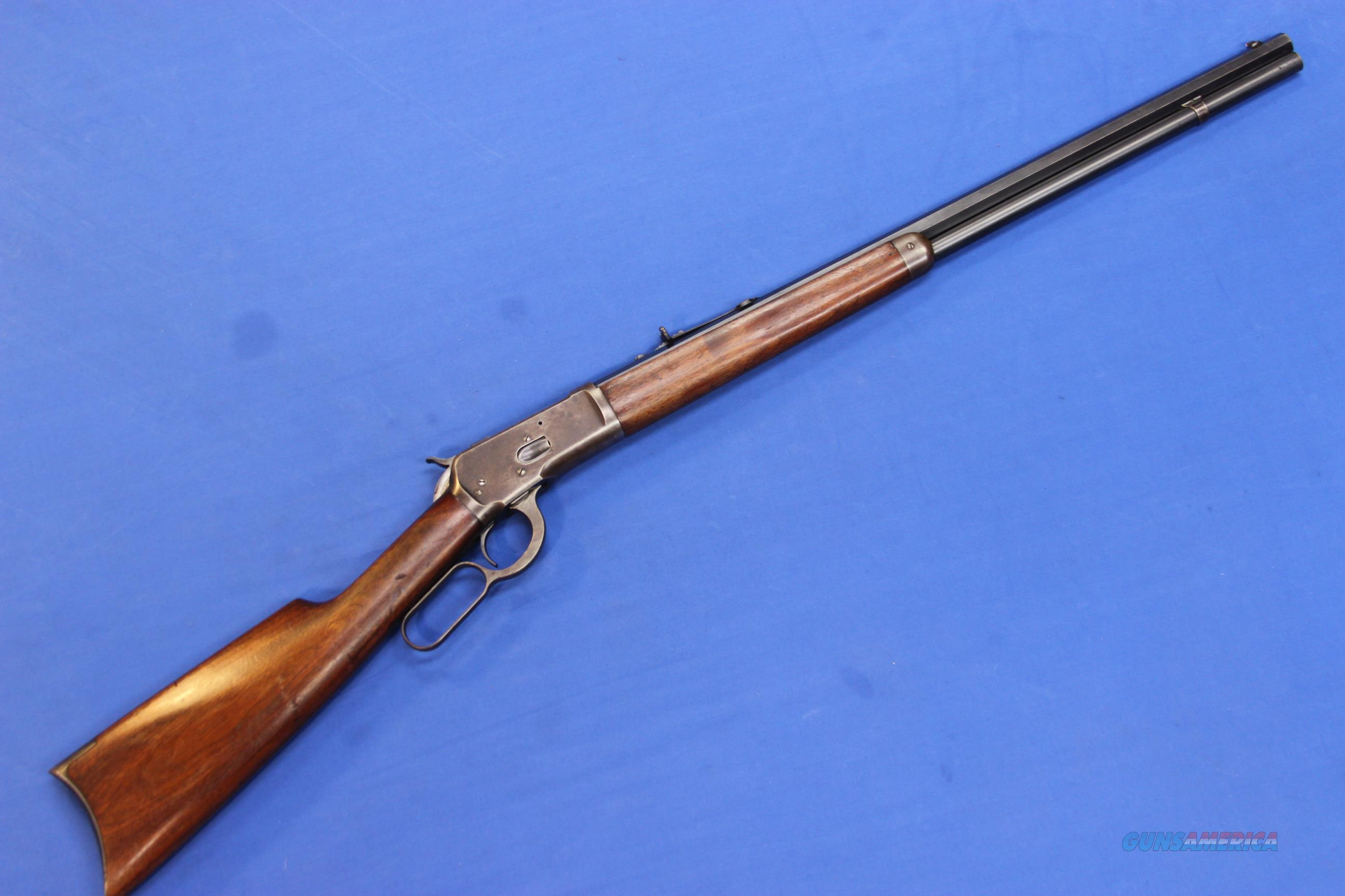 WINCHESTER MODEL 1892 .38 WCF  Guns > Rifles > Winchester Rifles - Pre-1899 Lever