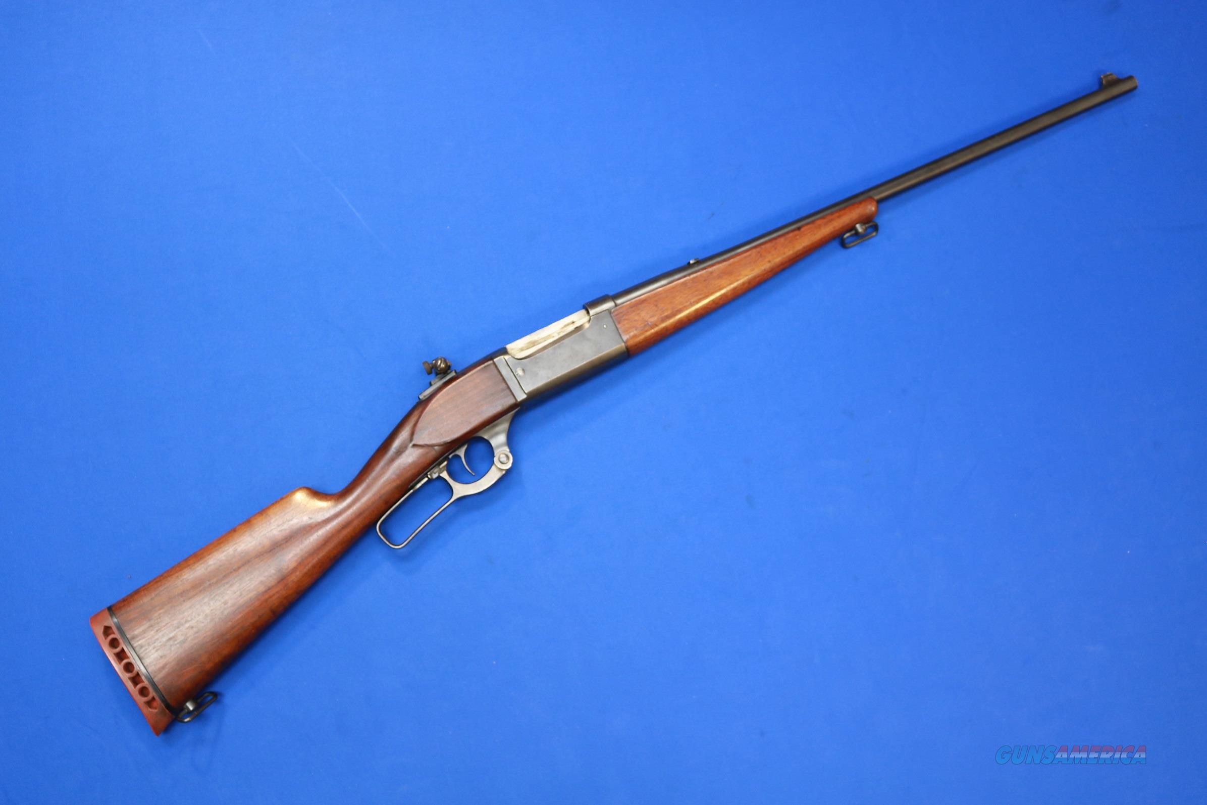 SAVAGE 99 LEVER ACTION .300 SAVAGE w/PEEP SIGHT  Guns > Rifles > Savage Rifles > Model 95/99 Family