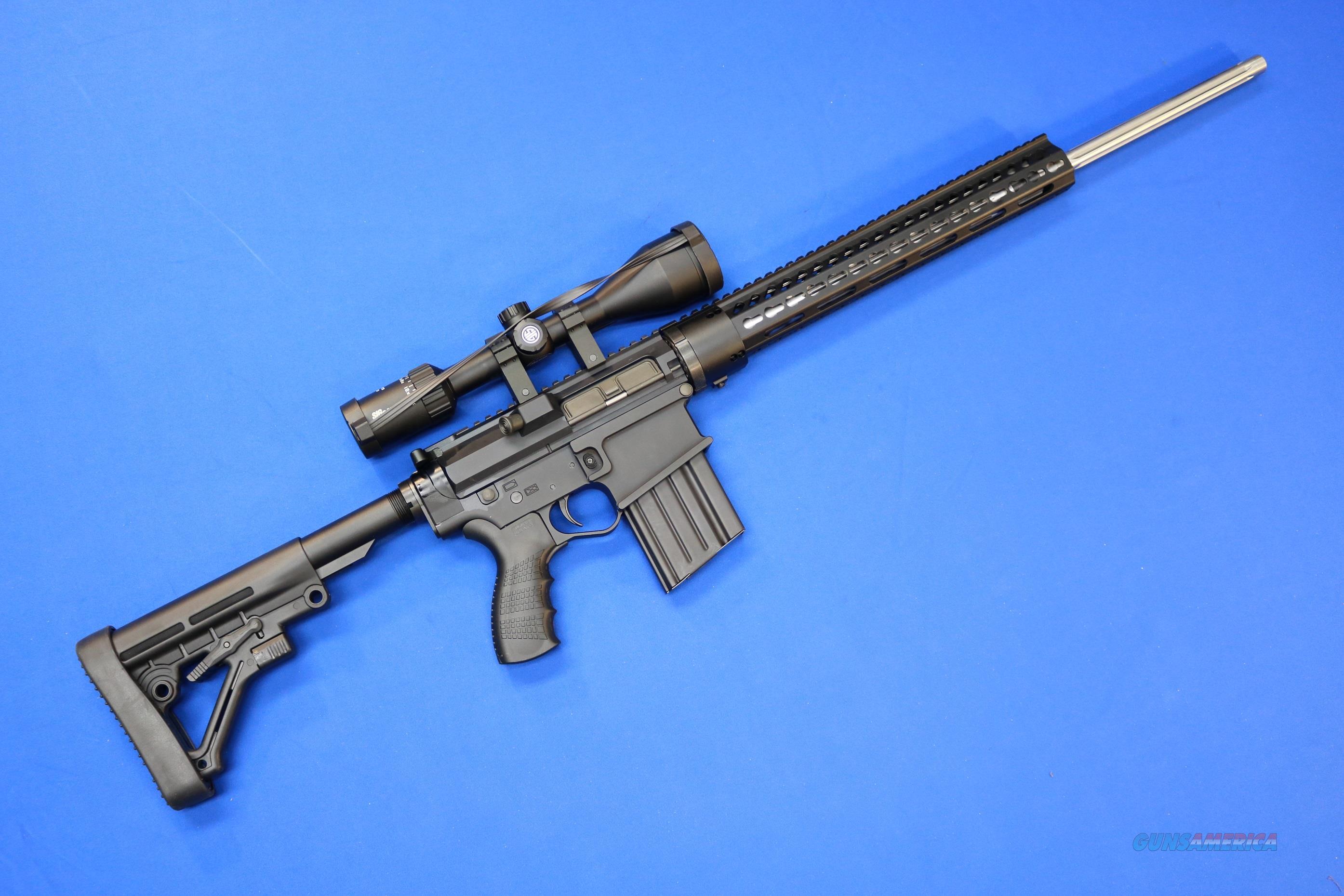 F&W GUNS CUSTOM FW-10 .308 WIN w/SIG SAUER OPTIC  Guns > Rifles > AR-15 Rifles - Small Manufacturers > Complete Rifle