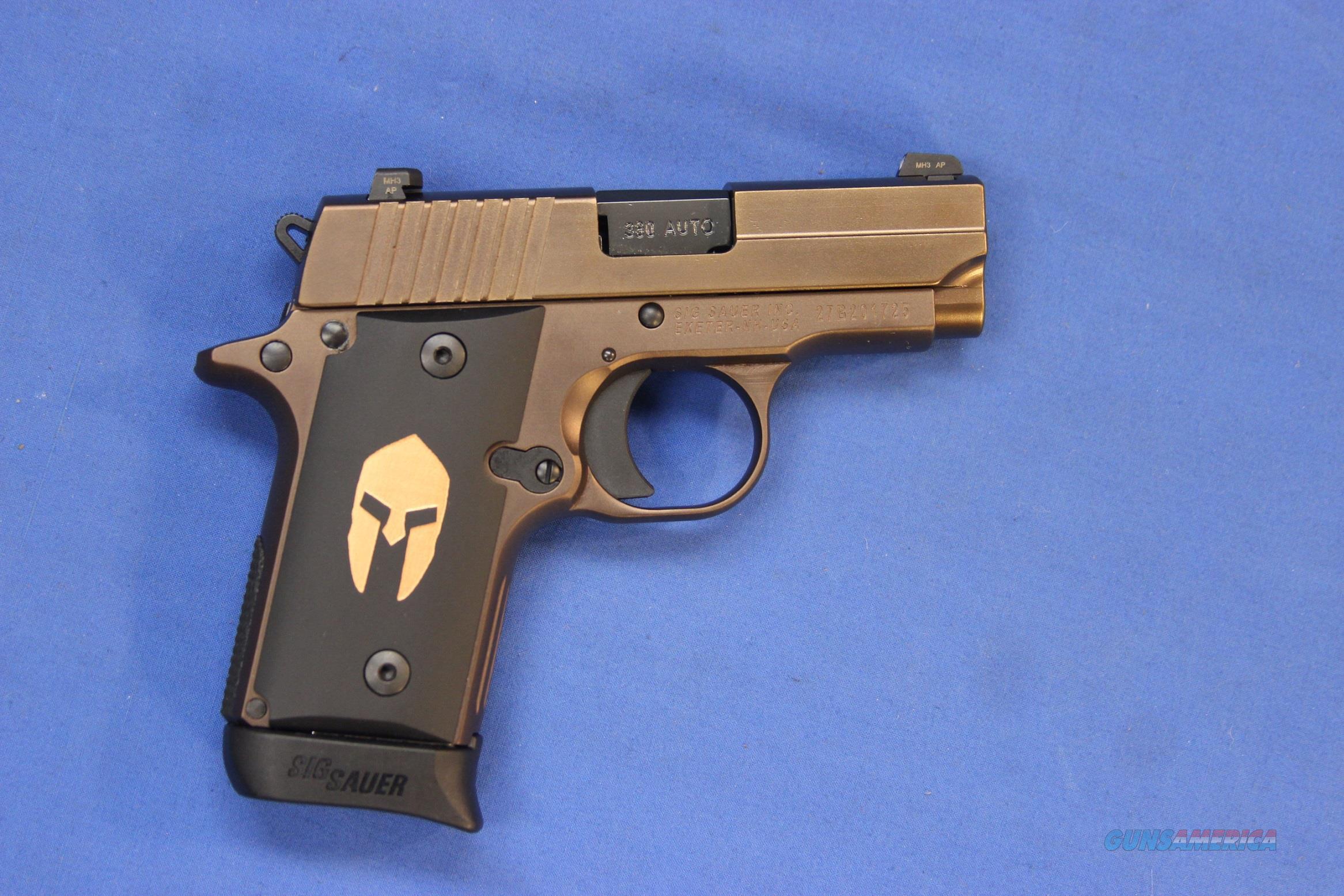 SIG SAUER P238 SPARTAN .380 ACP - NEW!  Guns > Pistols > Sig - Sauer/Sigarms Pistols > P238