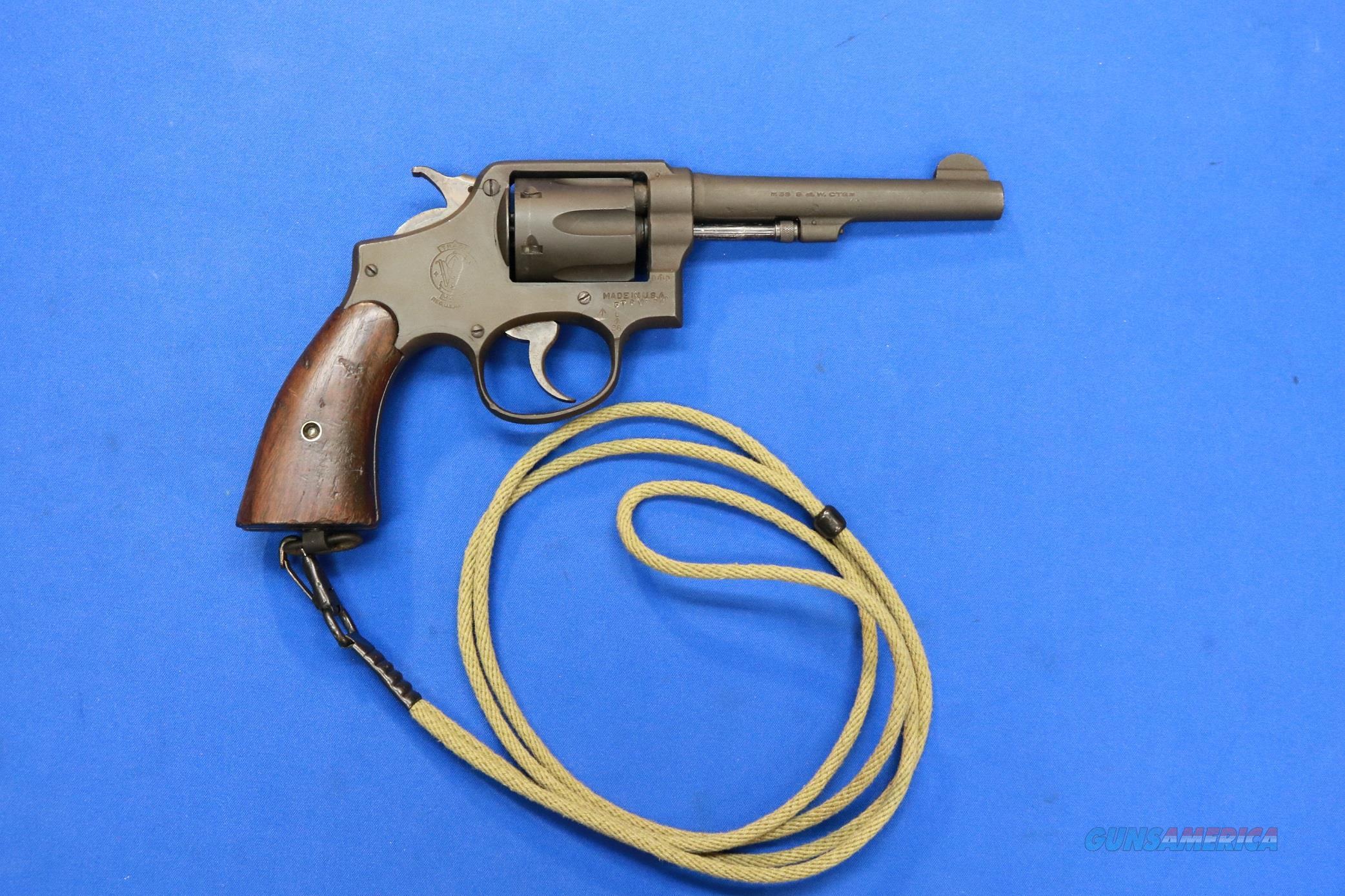 SMITH & WESSON .38/200 BRITISH SERVICE LEND LEASE   Guns > Pistols > Smith & Wesson Revolvers > Pre-1945