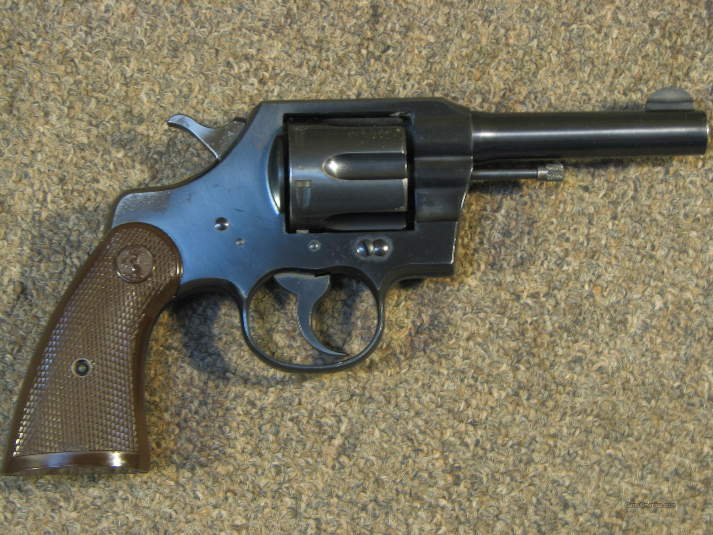 COLT OFFICIAL POLICE .38 SPECIAL - NICE!!  Guns > Pistols > Colt Double Action Revolvers- Pre-1945