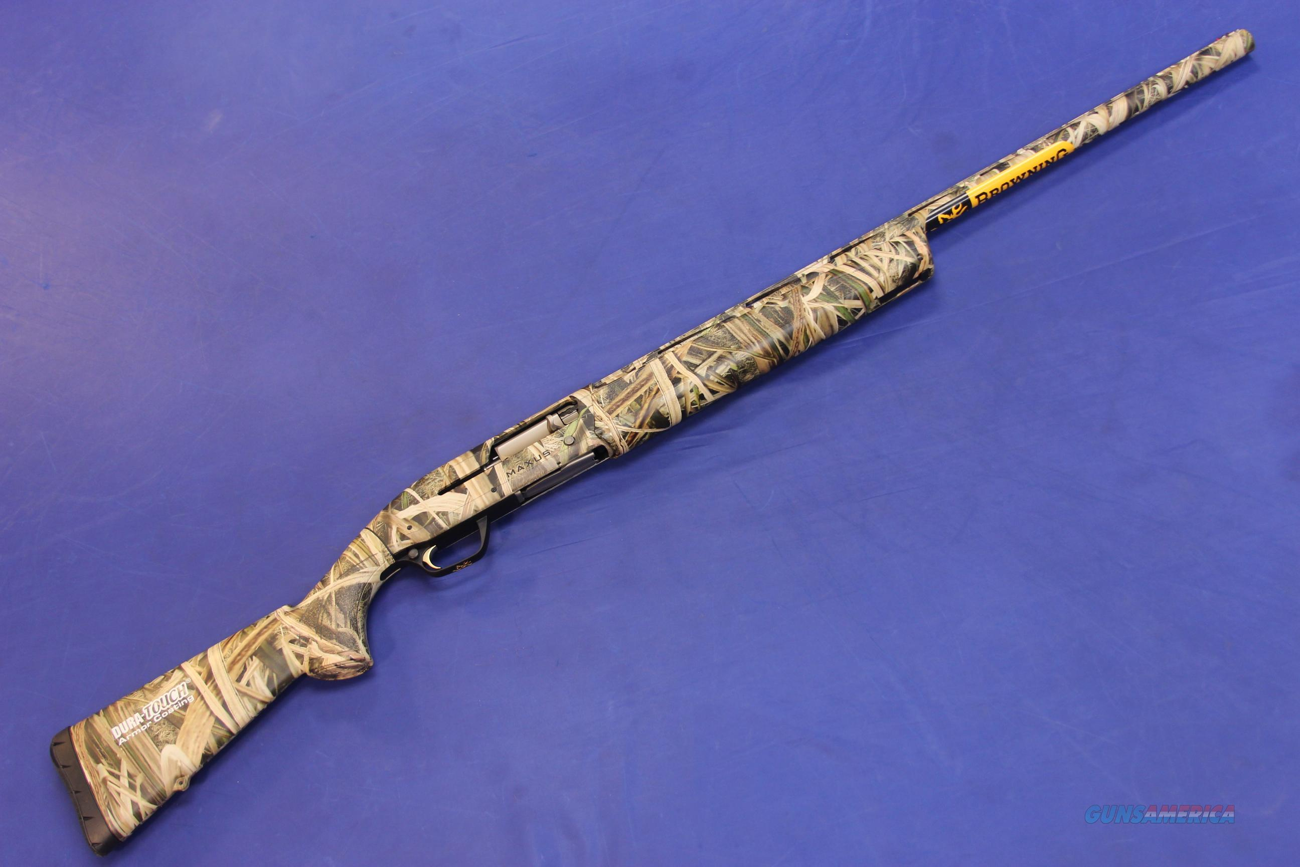 BROWNING MAXUS 12 SHADOW GRASS CAMO 12 GA - NEW!  Guns > Shotguns > Browning Shotguns > Autoloaders > Hunting