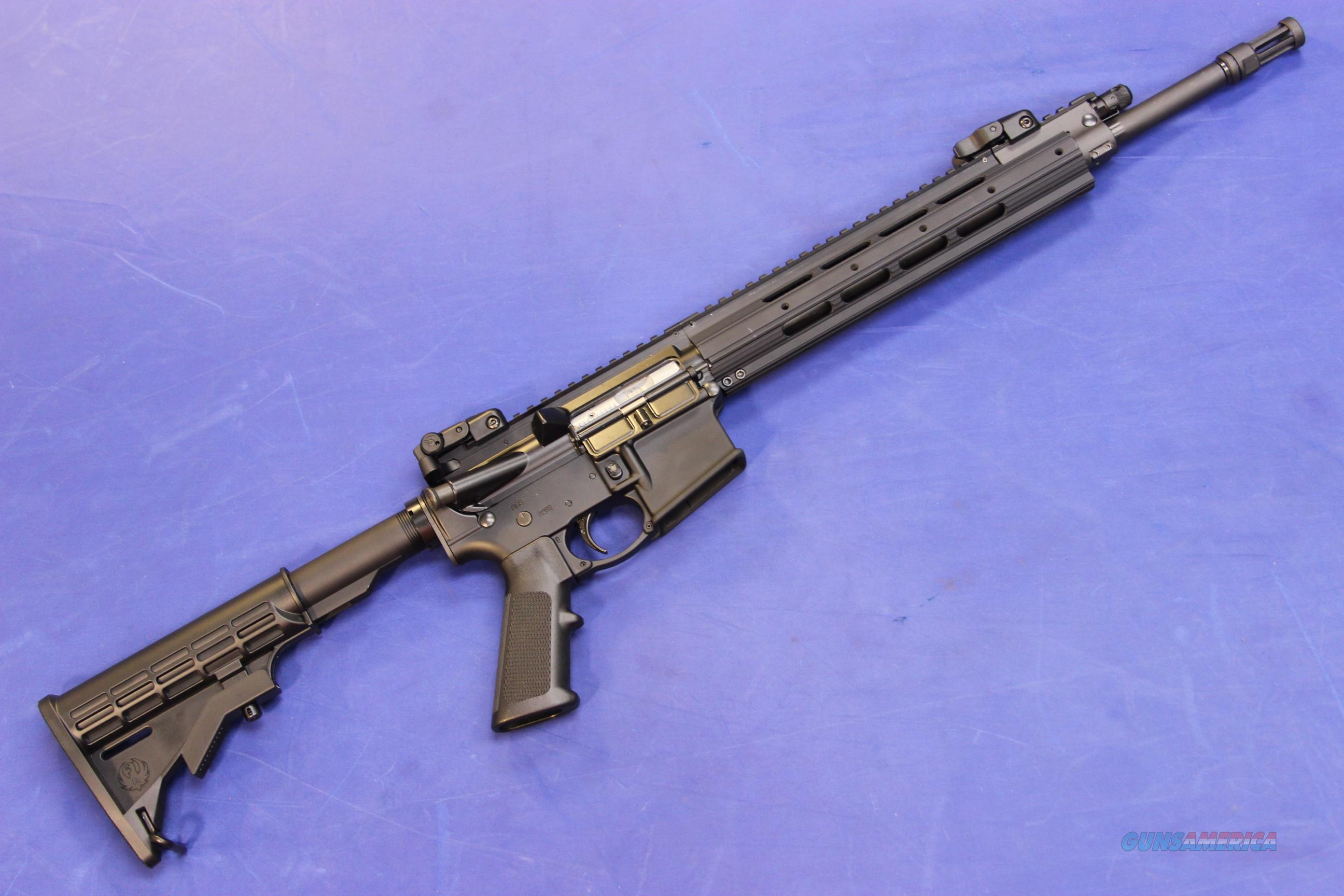 RUGER SR-556E 5.56mm - NEW!  Guns > Rifles > Ruger Rifles > SR-556