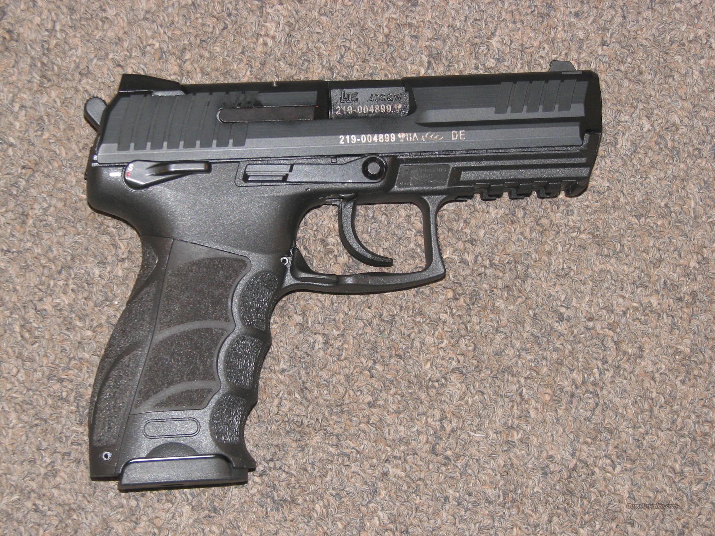 HECKLER & KOCH P30 .40 S&W w/ SAFETY - NEW!  Guns > Pistols > Heckler & Koch Pistols > Polymer Frame
