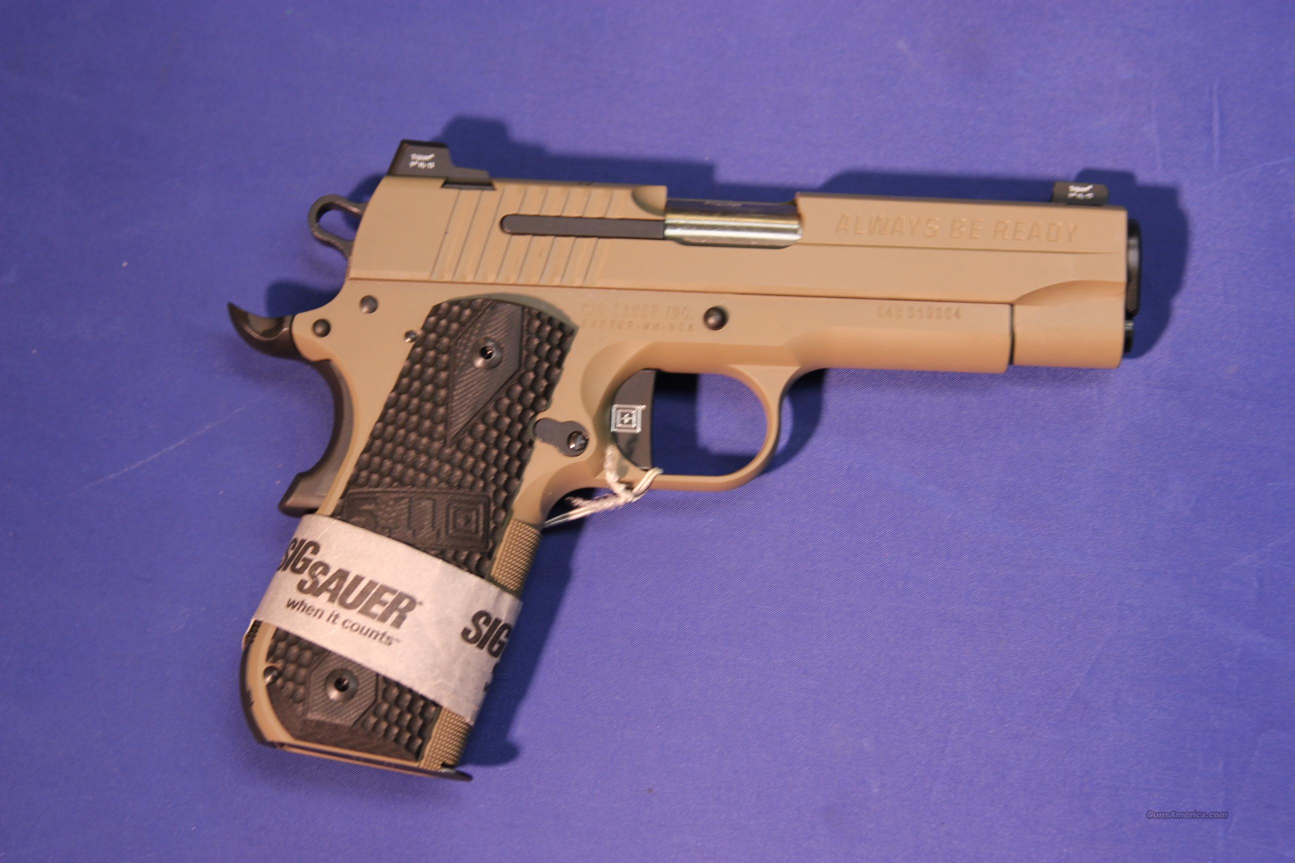 ***SOLD*** Sig Sauer 5.11 Carry 1911 .45 ACP - NEW!  Guns > Pistols > Sig - Sauer/Sigarms Pistols > 1911