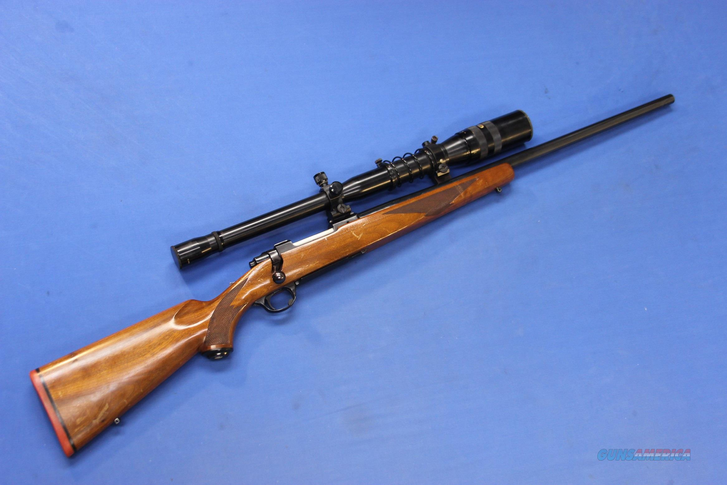 RUGER 77 .220 SWIFT w/JAPANESE TASCO #707 SCOPE  Guns > Rifles > Ruger Rifles > Model 77