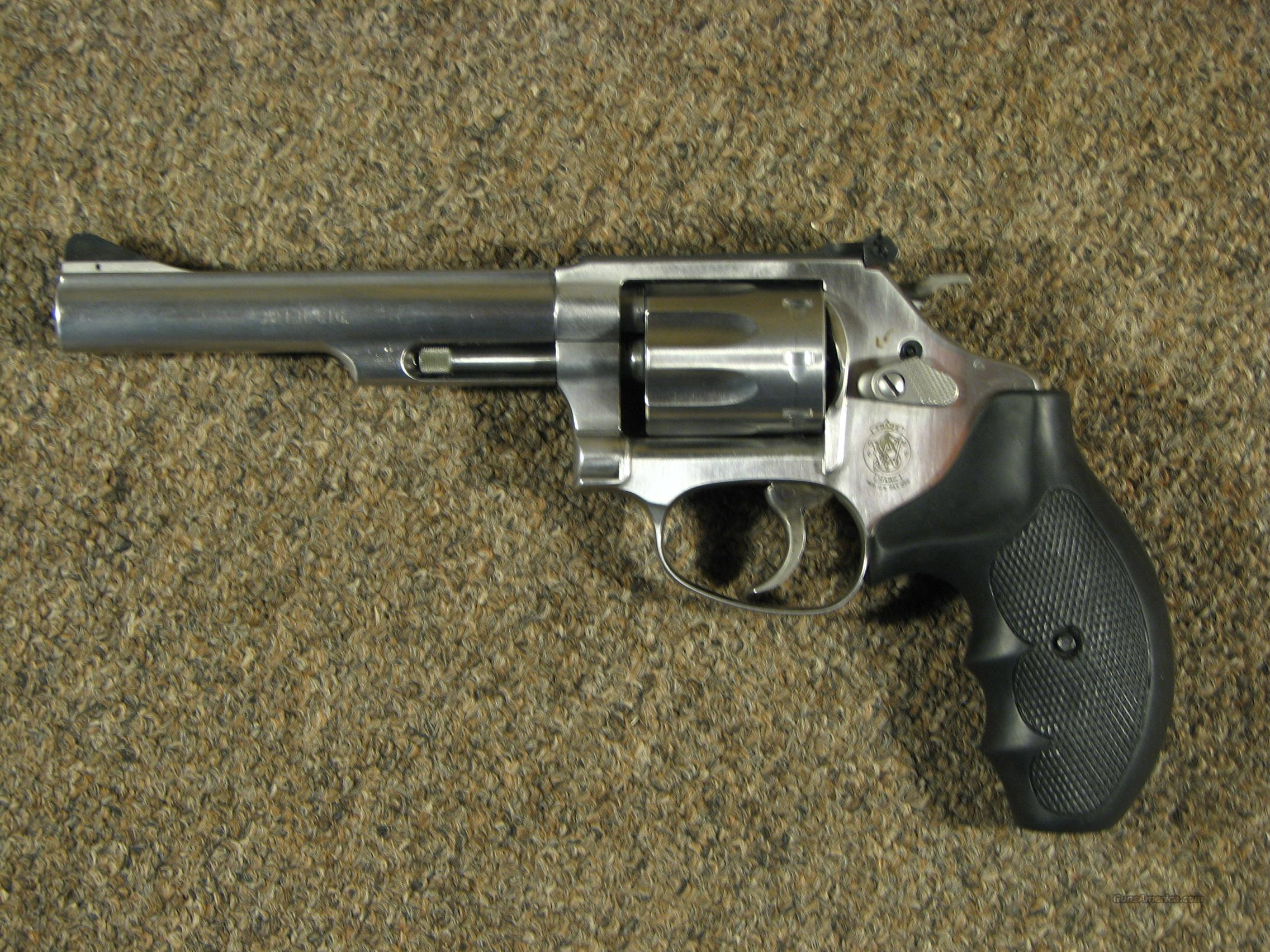 "SMITH & WESSON 63-4 SS .22LR - 5""  Guns > Pistols > Smith & Wesson Revolvers > Full Frame Revolver"