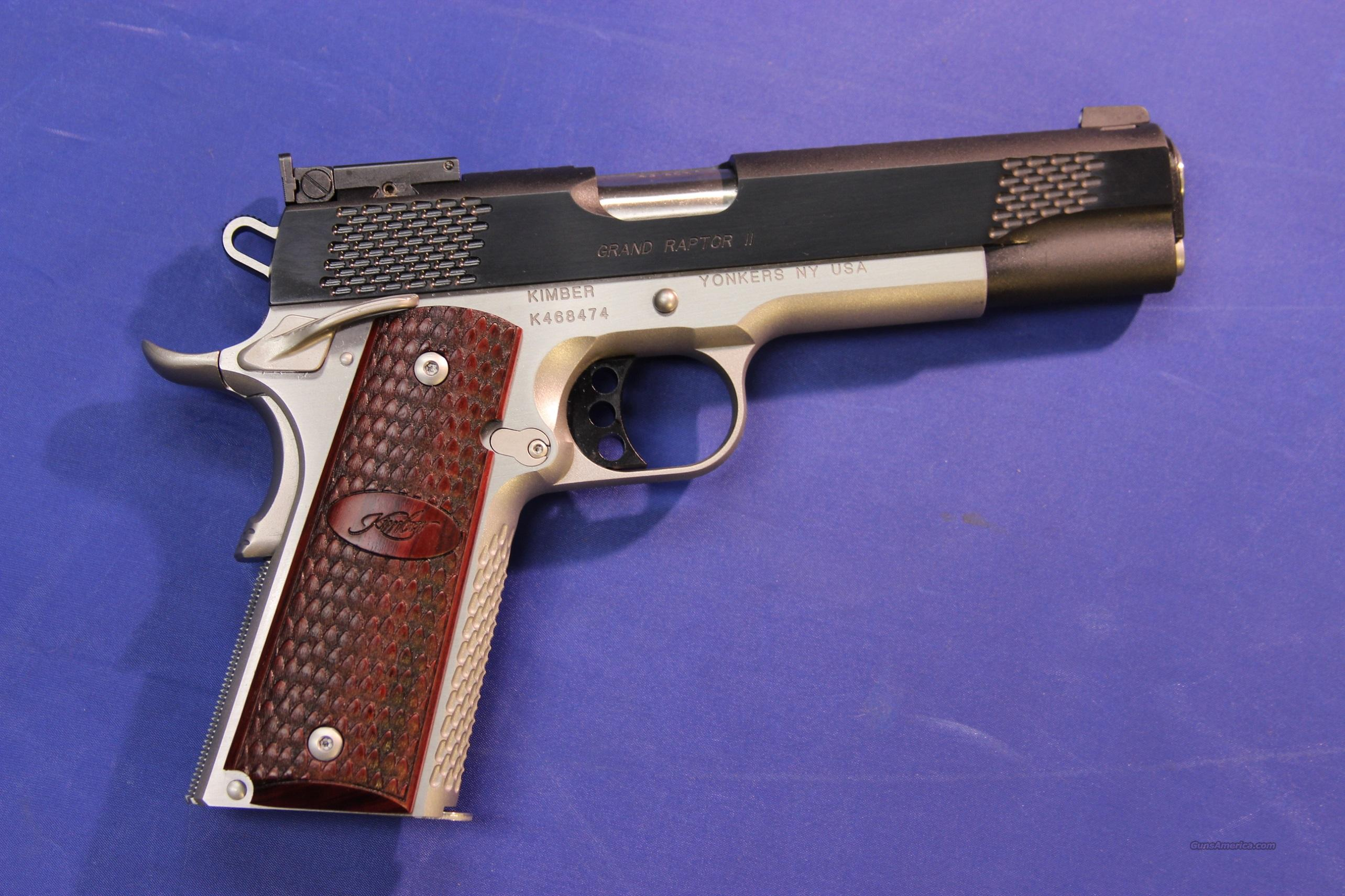 KIMBER 1911 GRAND RAPTOR II .45 ACP - NEW!  Guns > Pistols > Kimber of America Pistols