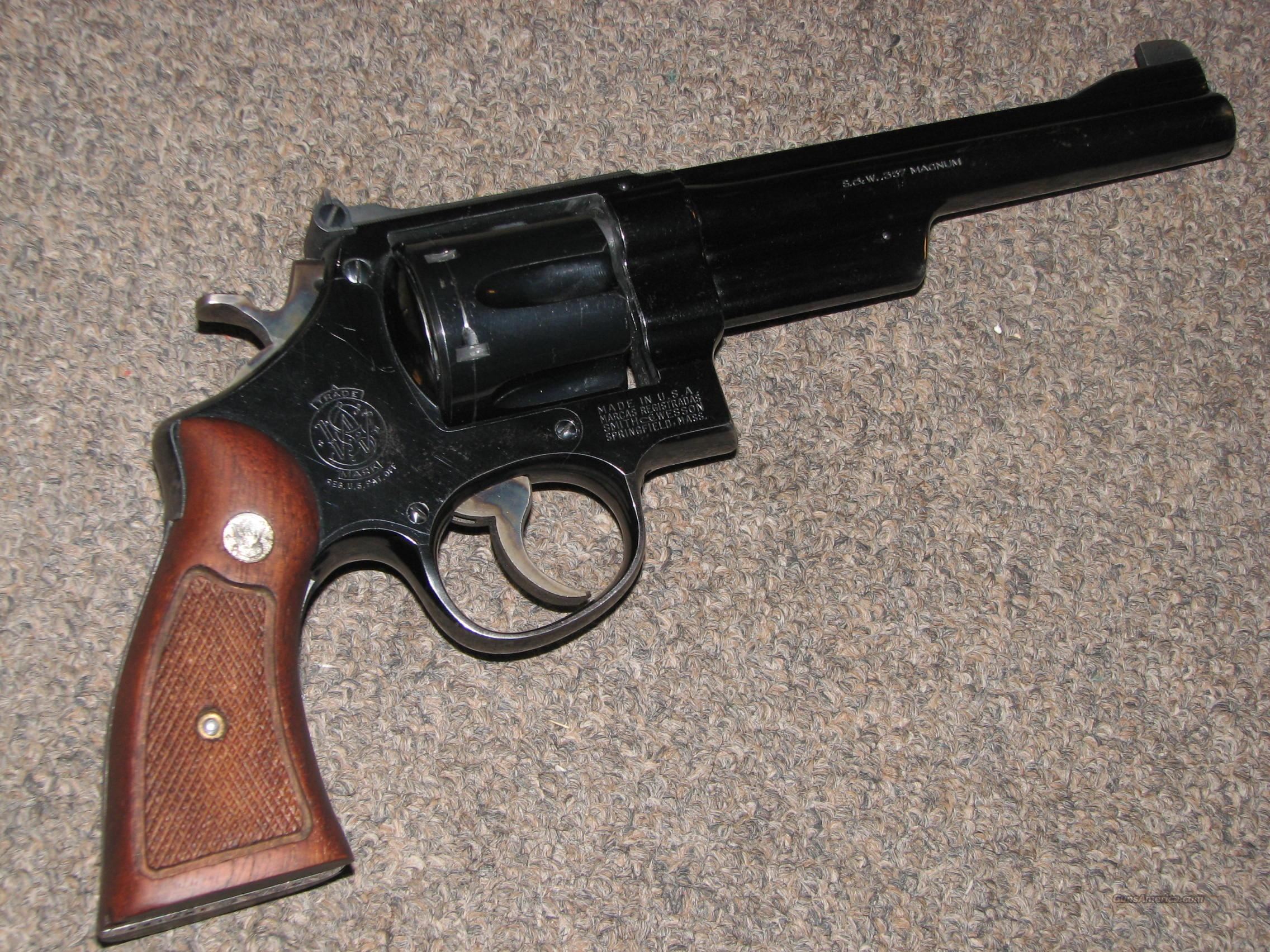 SMITH & WESSON PRE-27 .357 MAGNUM 5-SCREW  Guns > Pistols > Smith & Wesson Revolvers > Full Frame Revolver