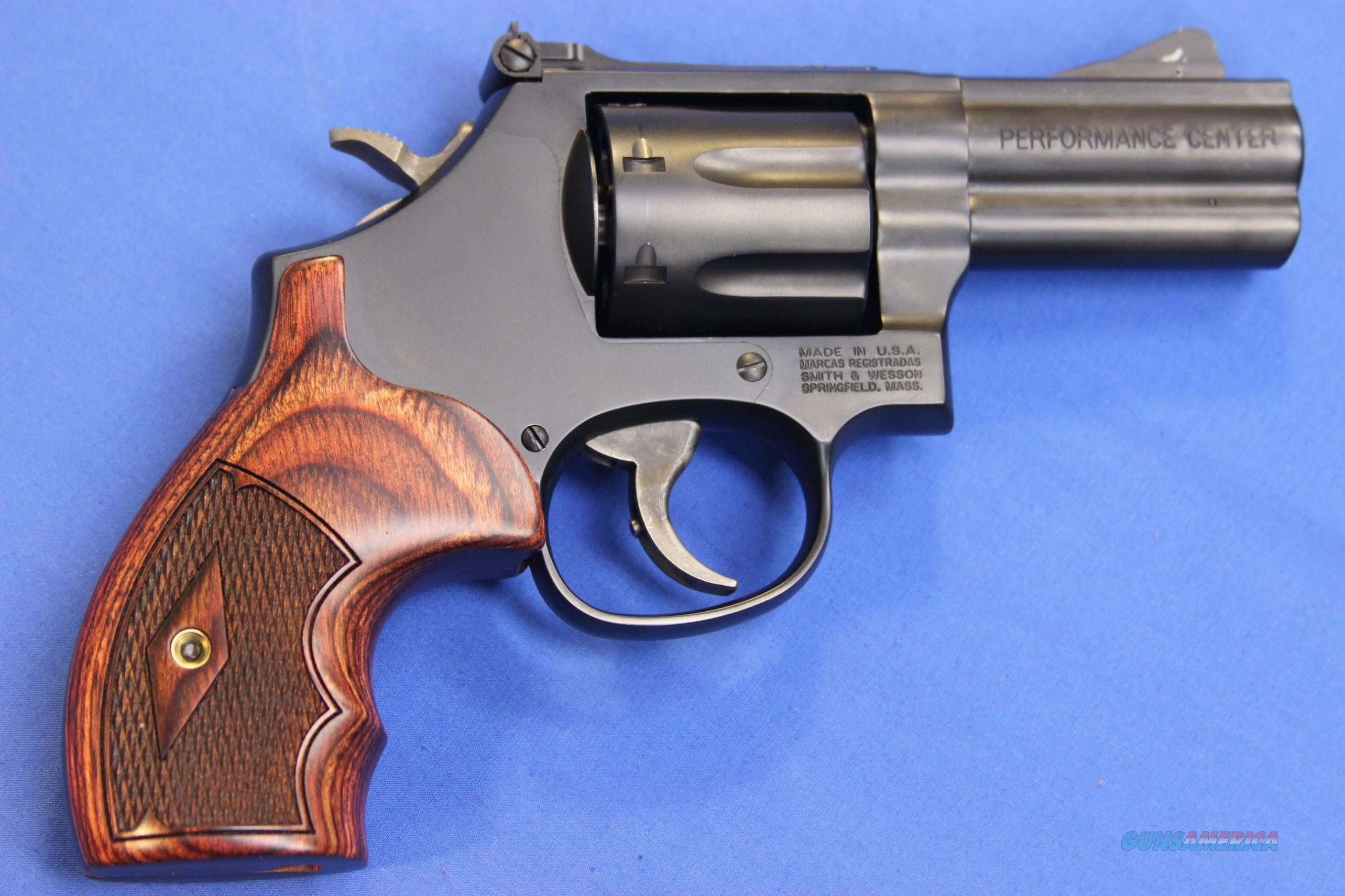 SMITH & WESSON 586 L-COMP PERF CENTER 7x .357 MAG - NEW!  Guns > Pistols > Smith & Wesson Revolvers > Performance Center