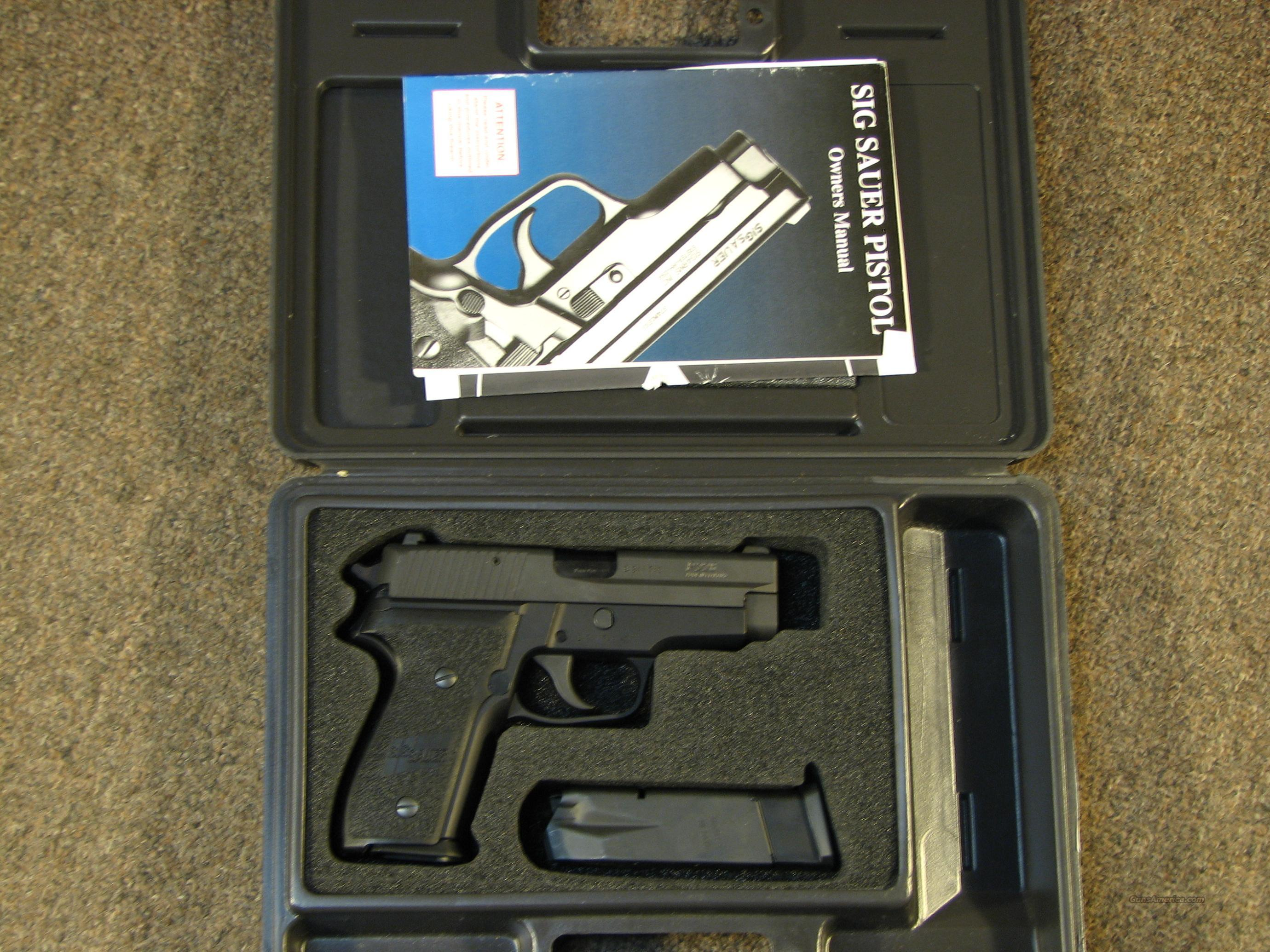 SIG SAUER P228 9MM - LIKE NEW w/ TRIJICON NIGHT SIGHTS & 2 MAGS  Guns > Pistols > Sig - Sauer/Sigarms Pistols > P228