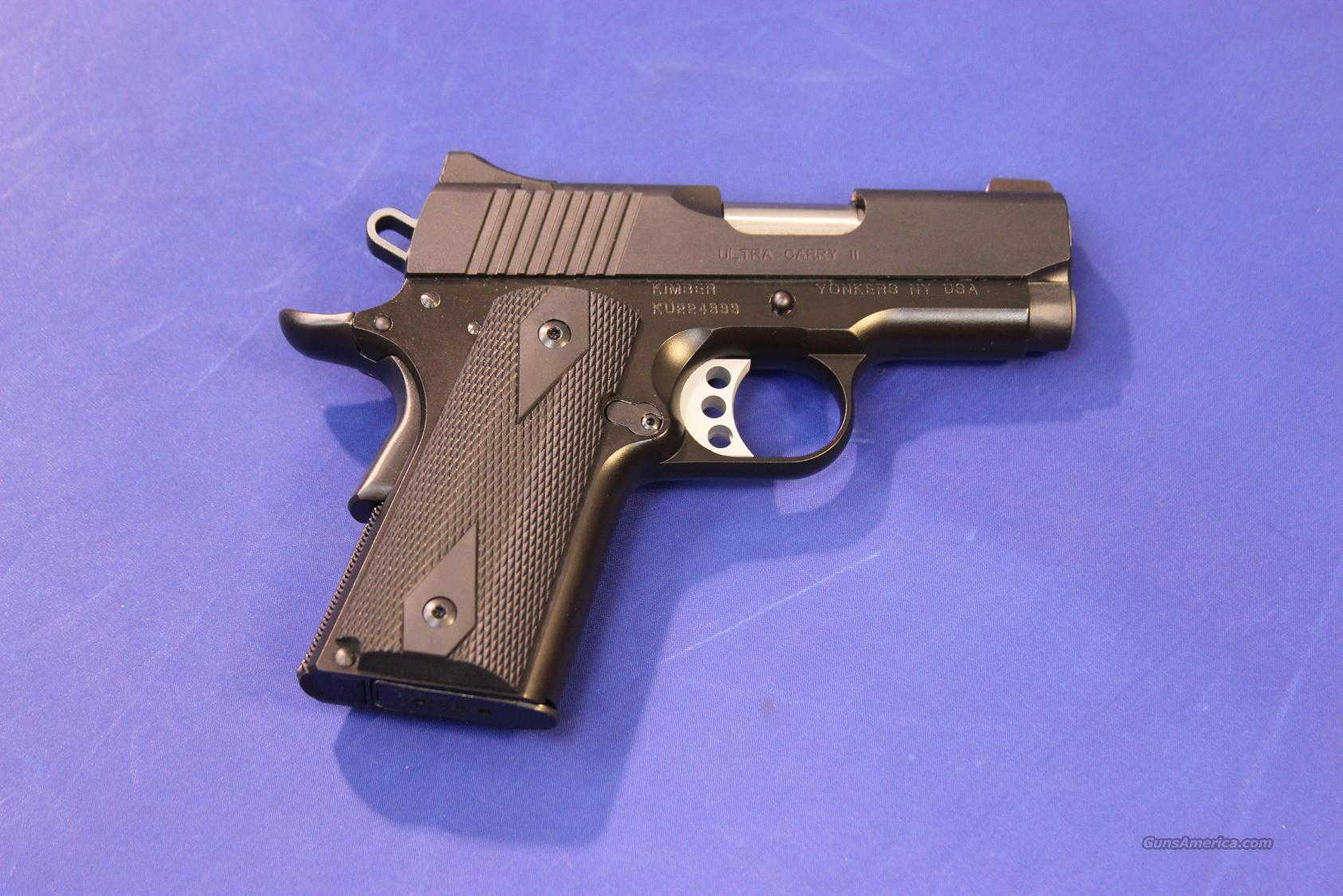 ***SOLD*** KIMBER ULTRA CARRY II .45 ACP - NEW!  Guns > Pistols > Kimber of America Pistols