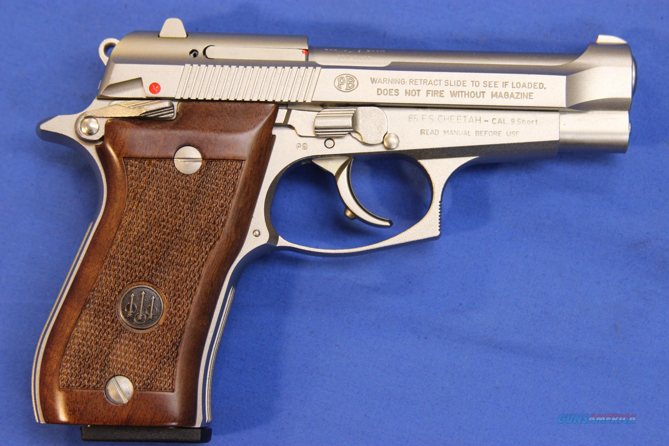 BERETTA 85 FS CHEETAH NICKEL .380 ACP - NEW!  Guns > Pistols > Beretta Pistols > Cheetah Series > Model 85