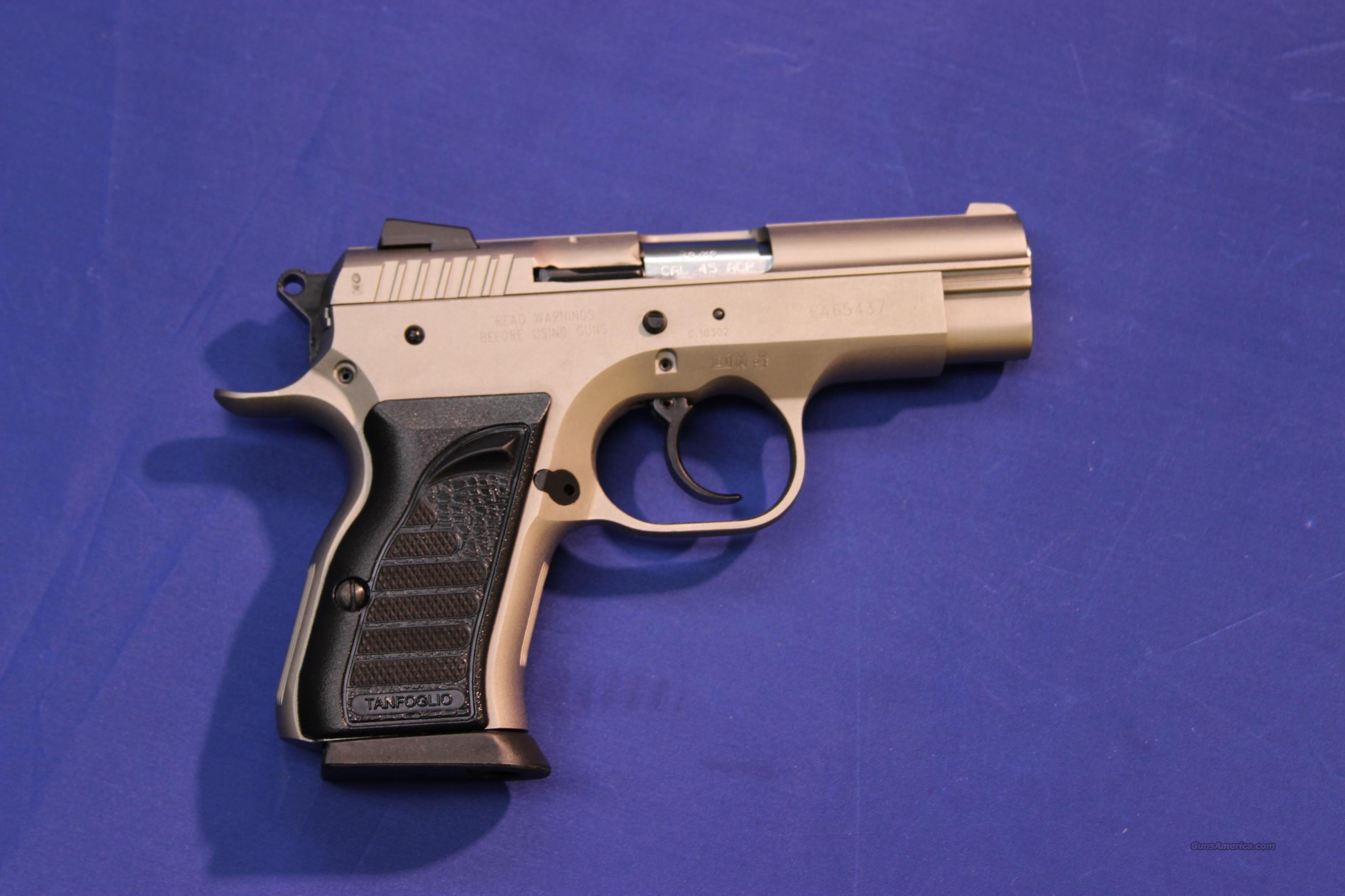 EAA WITNESS COMPACT .45 ACP w/ WONDER FINISH - NEW!  Guns > Pistols > EAA Pistols > Other
