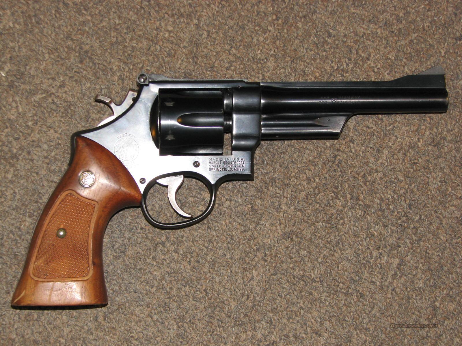 "SMITH & WESSON 28-2 .357 MAG - 6""  Guns > Pistols > Smith & Wesson Revolvers > Full Frame Revolver"