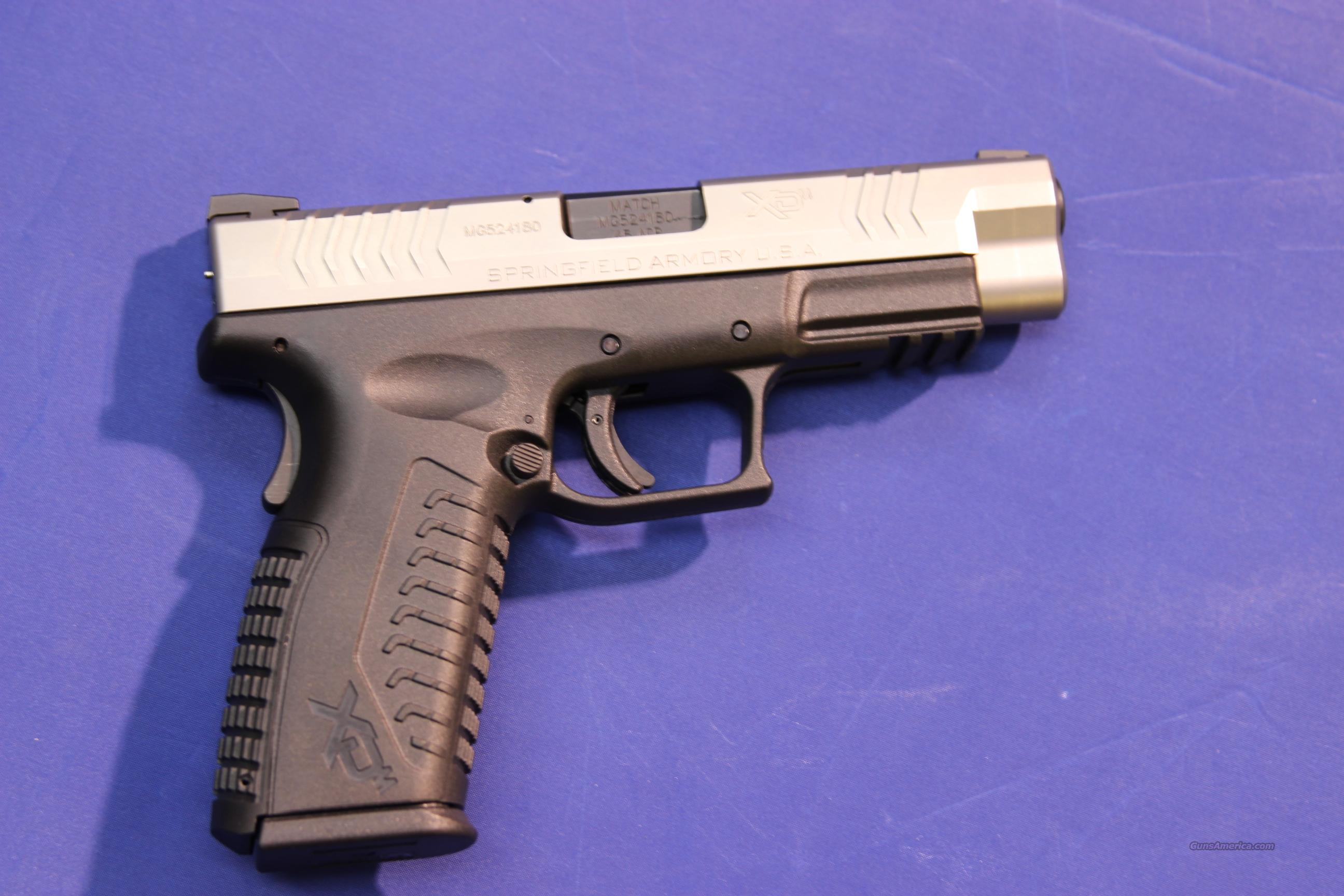SPRINGFIELD XDM-45 STAINLESS .45 ACP - EXCELLENT CONDITION  Guns > Pistols > Springfield Armory Pistols > XD-M
