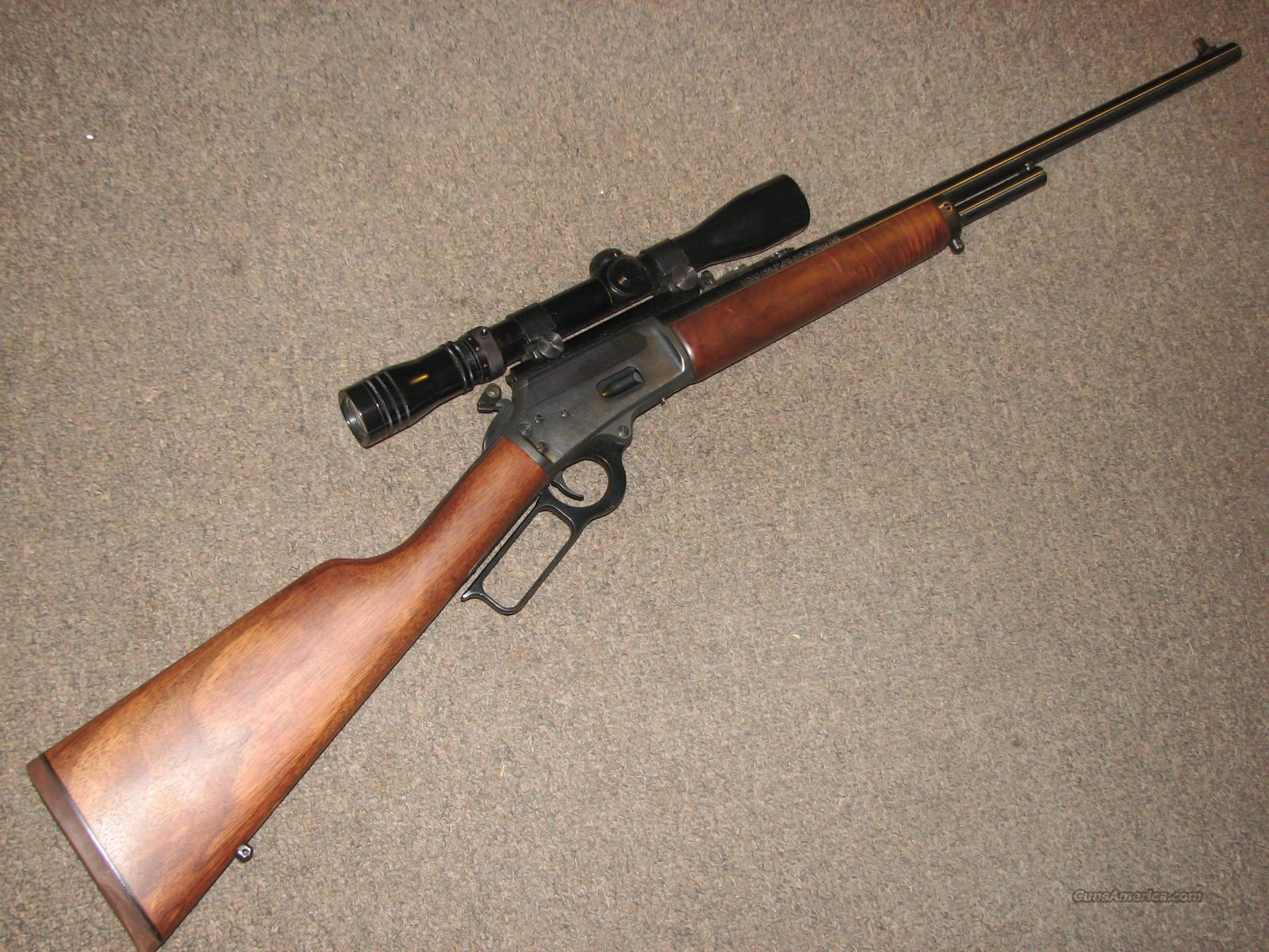 MARLIN 1894 CLASSIC .218 BEE w/ REDFIELD 3-9 SCOPE  Guns > Rifles > Marlin Rifles > Modern > Lever Action