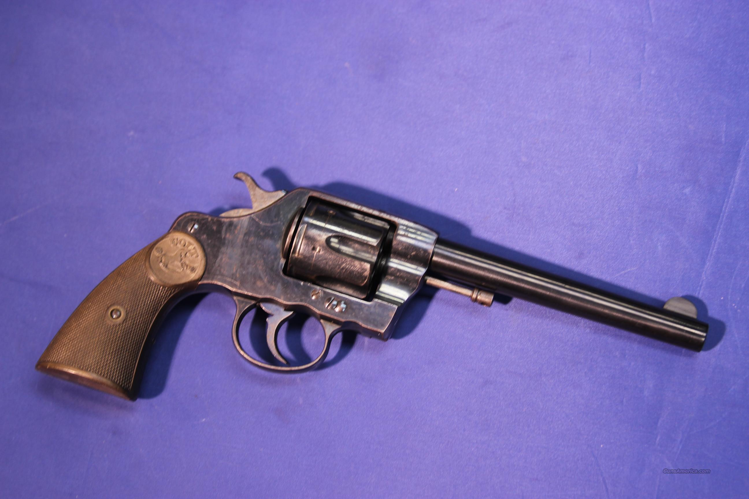 COLT NEW ARMY & NAVY 1903 .41 LC   Guns > Pistols > Colt Double Action Revolvers- Pre-1945