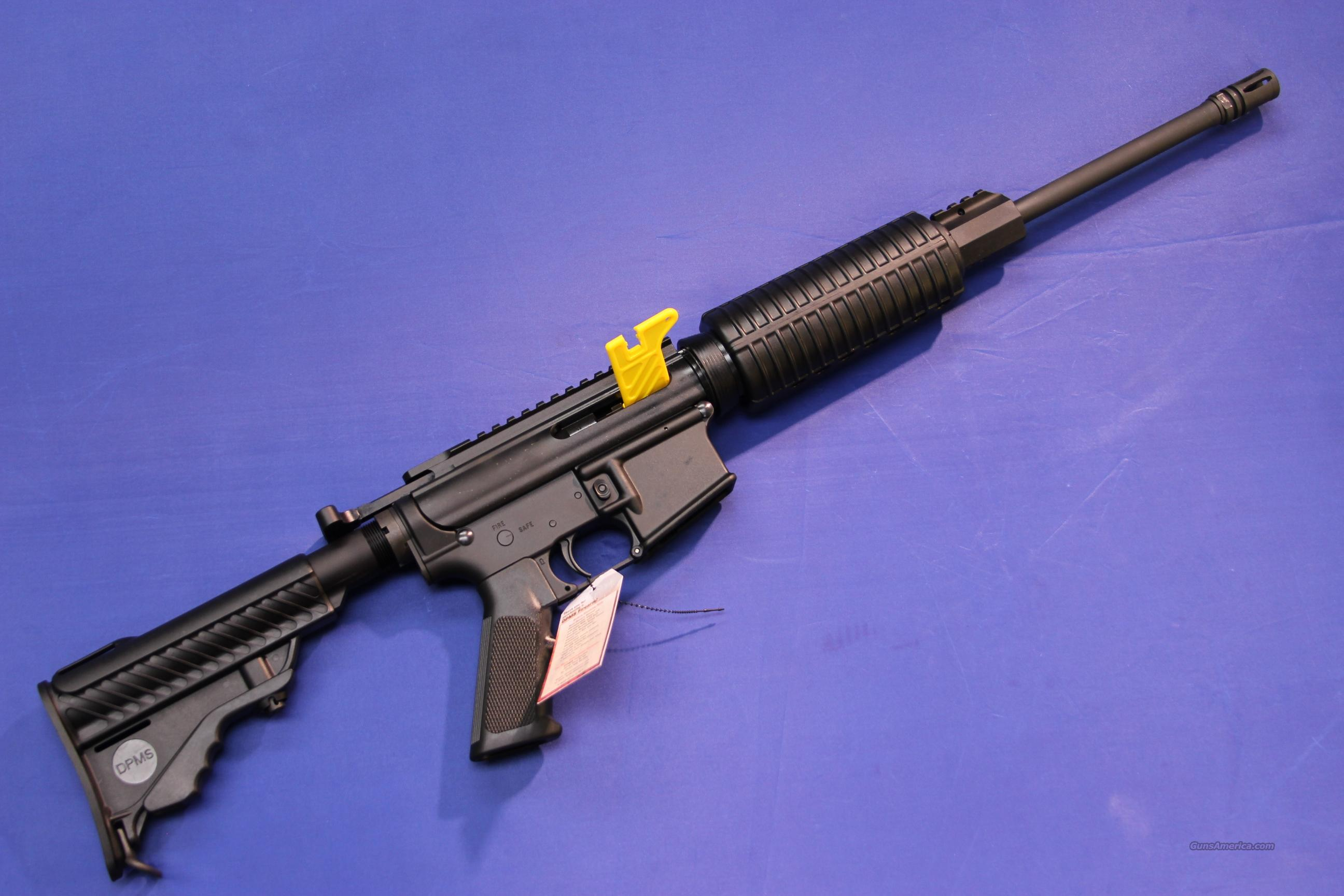 DPMS A-15 M4 FLAT TOP CARBINE .223 5.56mm - NEW!  Guns > Rifles > DPMS - Panther Arms > Complete Rifle