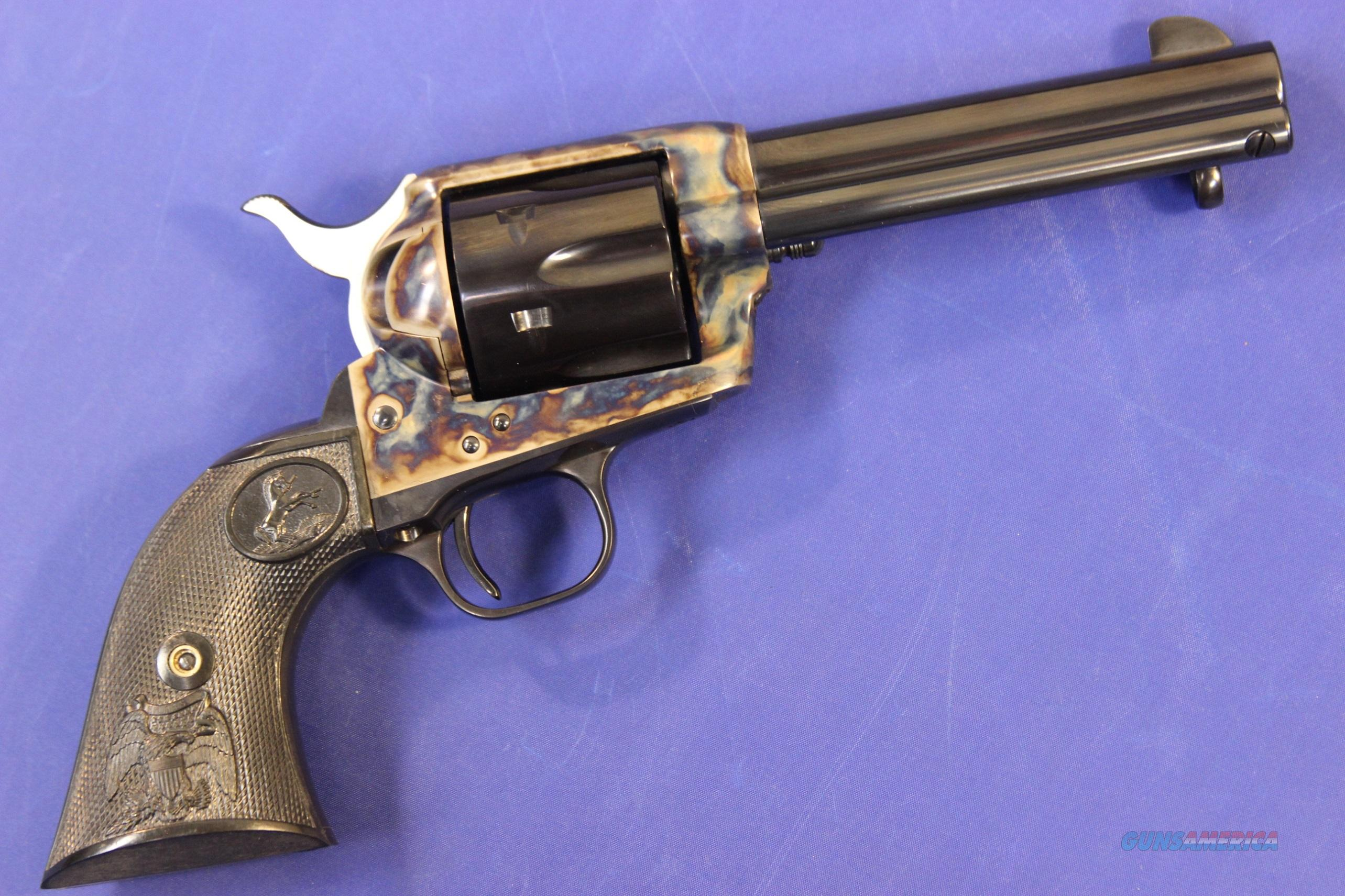 COLT SINGLE ACTION ARMY MODEL P2840 .45 COLT w/ BOX- LIKE NEW  Guns > Pistols > Colt Single Action Revolvers - 3rd Gen.