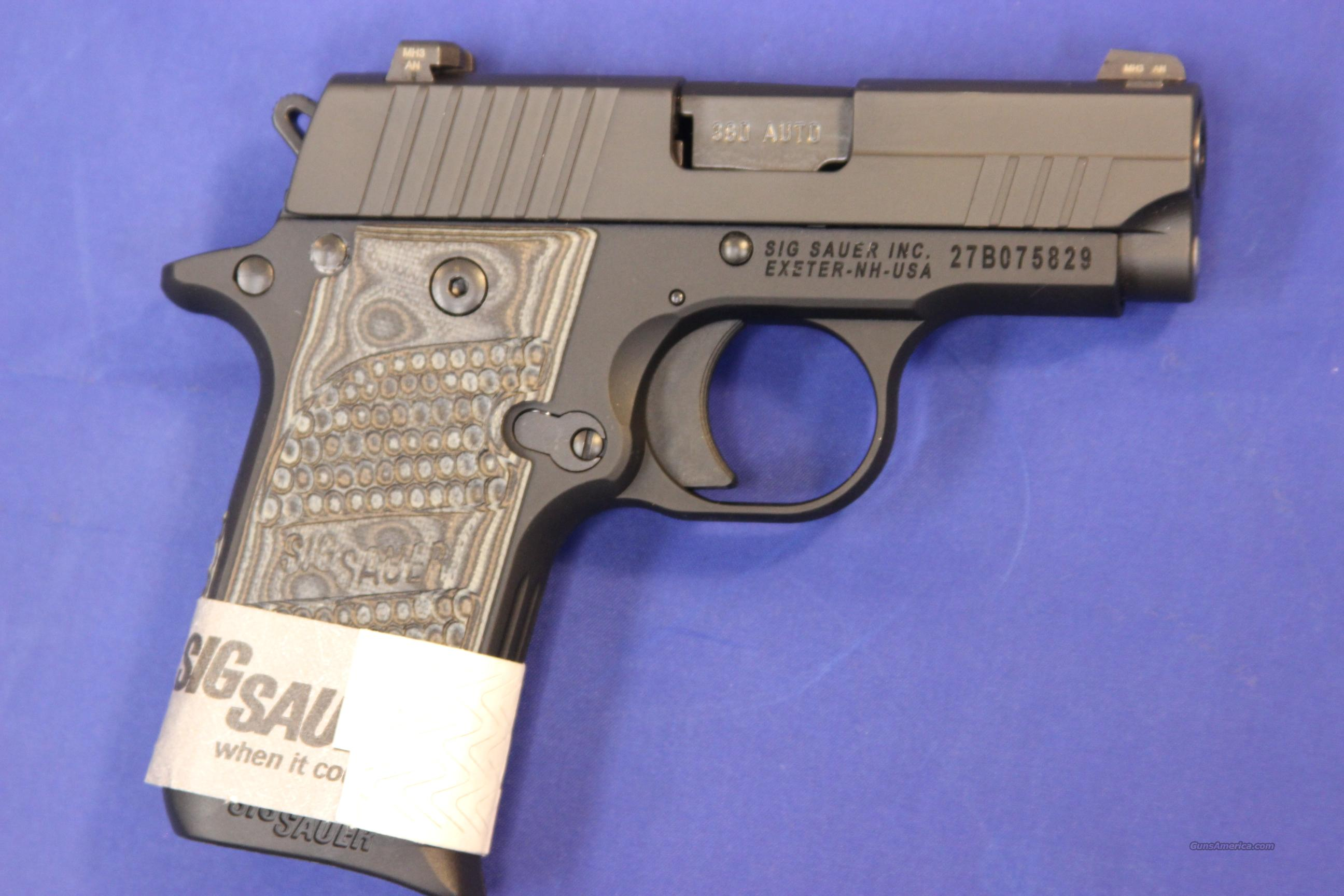 SIG SAUER P238 .380 ACP EXTREME BLACK/GREY - NEW!  Guns > Pistols > Sig - Sauer/Sigarms Pistols > P238