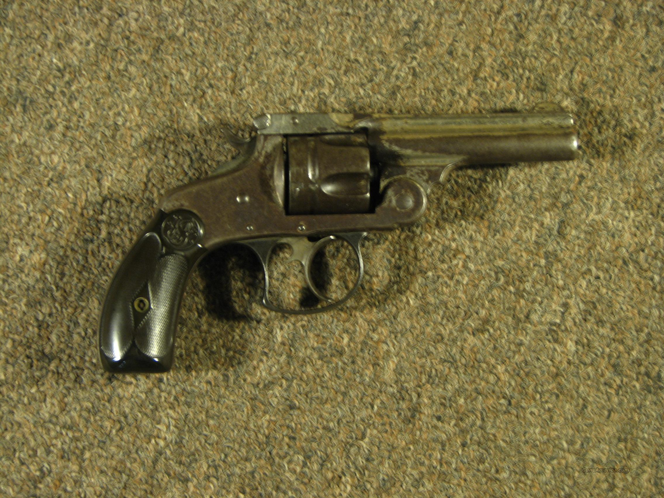 SMITH & WESSON DOUBLE ACTION 2ND MODEL .38 S&W  Guns > Pistols > Smith & Wesson Revolvers > Pre-1899